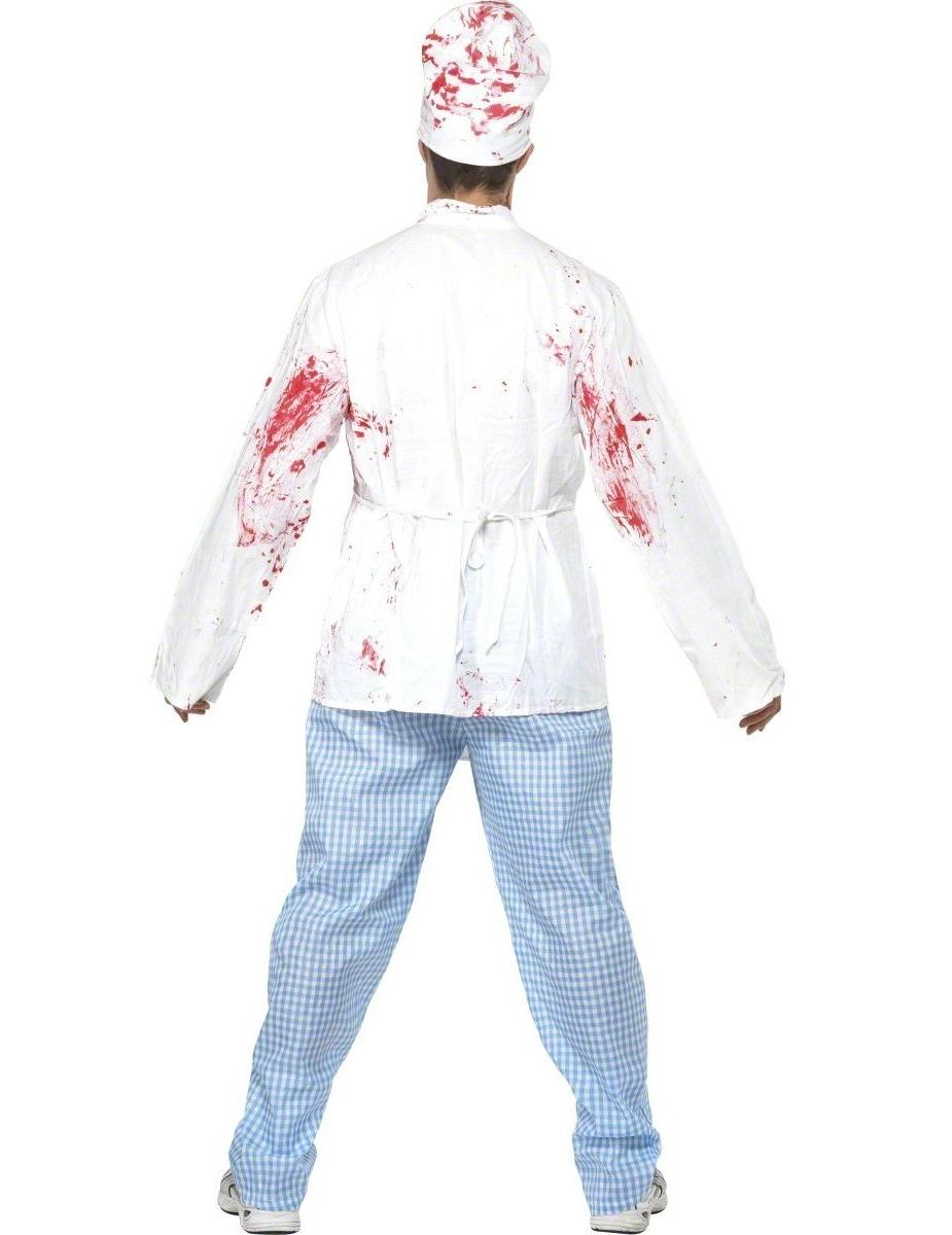 D guisement chef cuisinier zombie adulte for Cuisinier zombie
