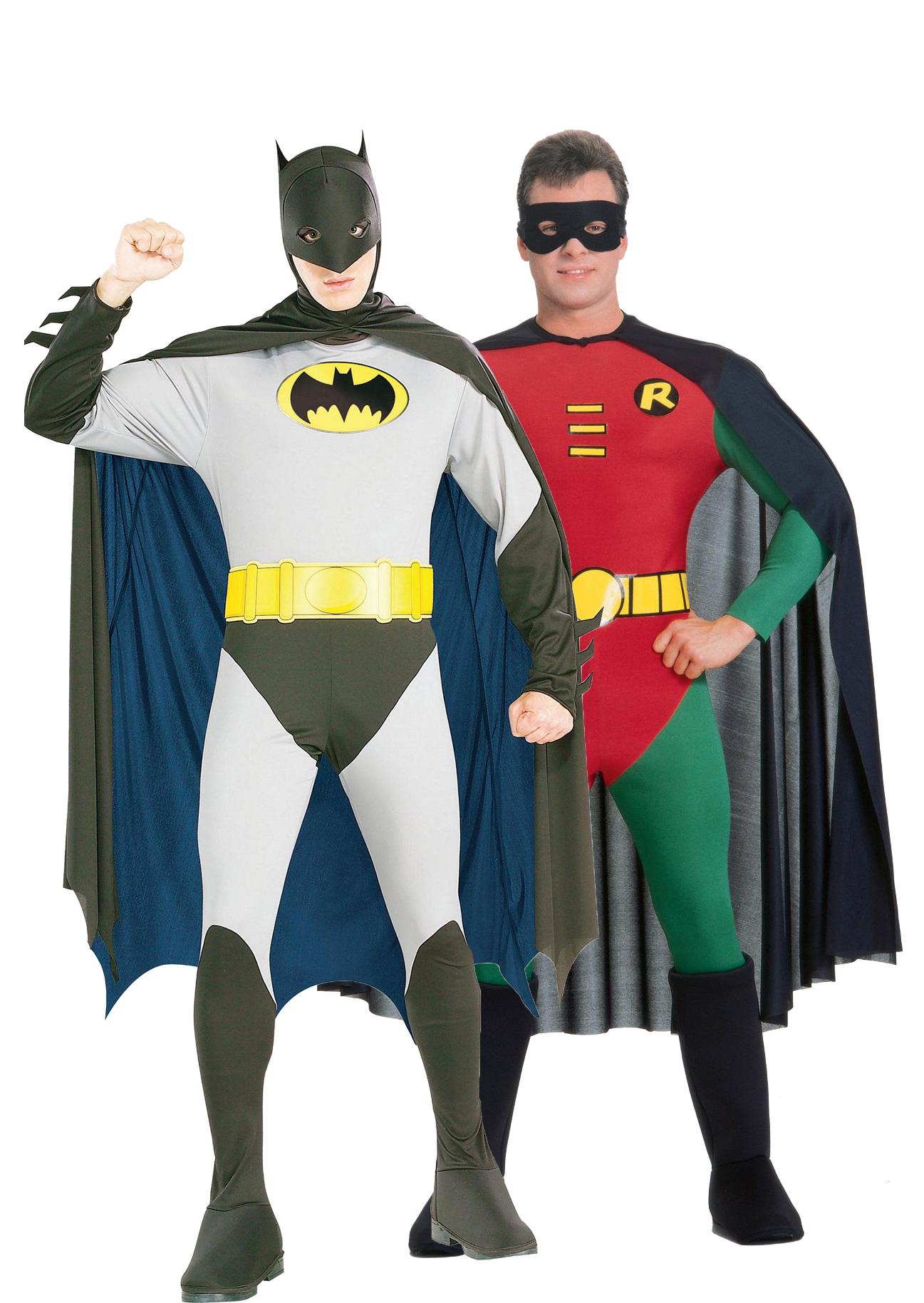 batman und robin paarkost m f r erwachsene paarkost me. Black Bedroom Furniture Sets. Home Design Ideas