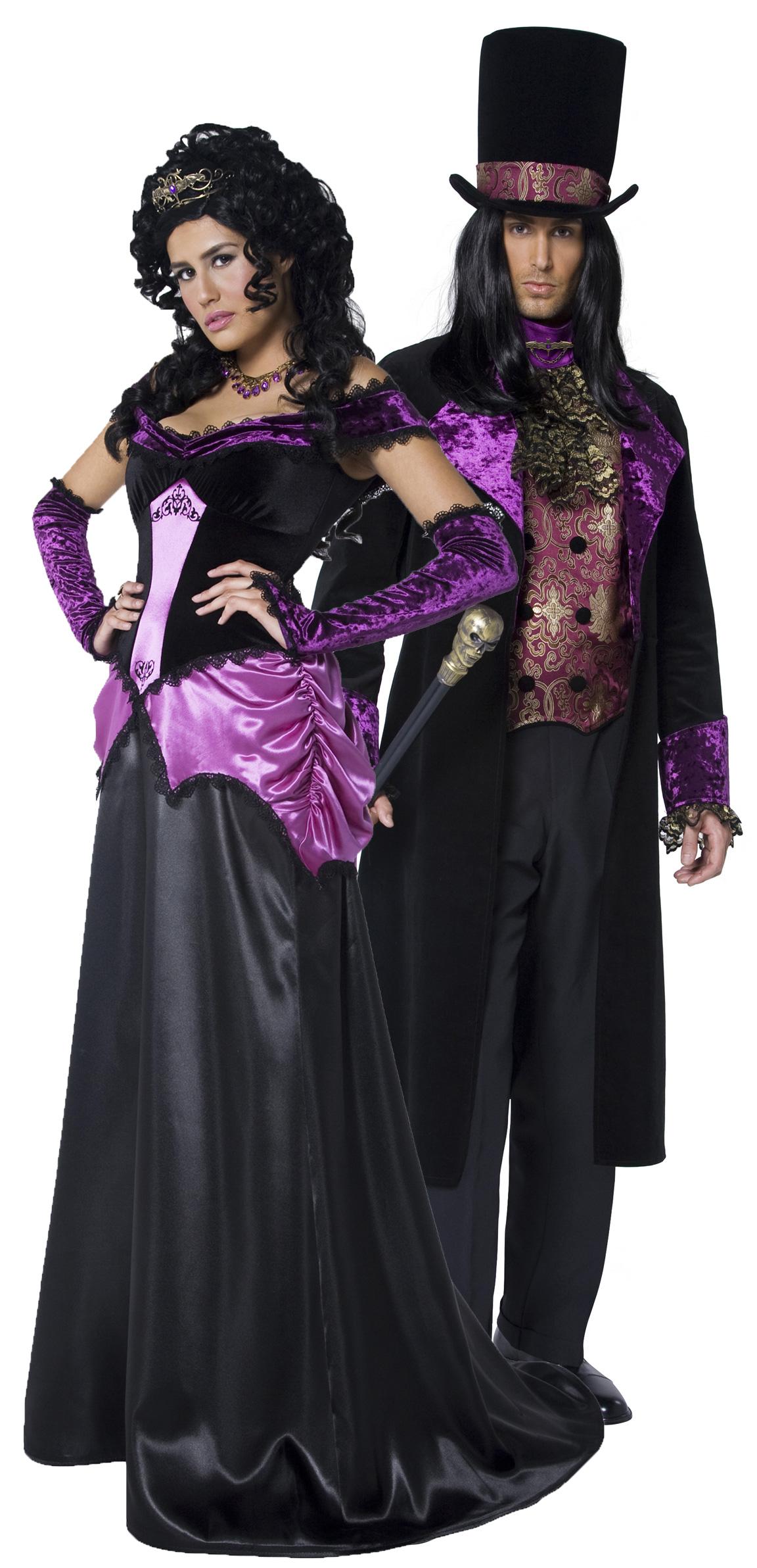 deguisement couple gothique