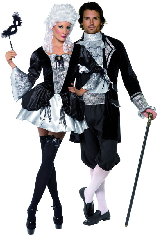 D guisement couple baroque vampires halloween - Deguisement couple halloween ...