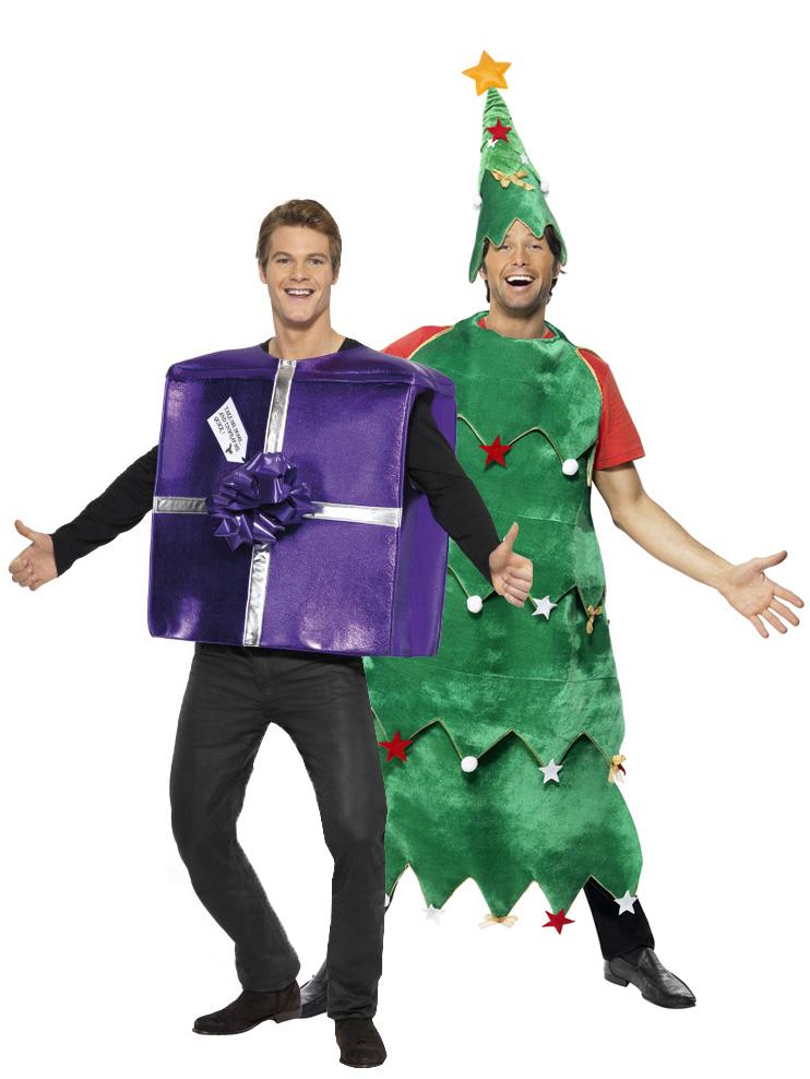 Disfraz de rbol y regalo de navidad disfraces adultos y disfraces originales baratos vegaoo - Disfraces navidenos originales ...