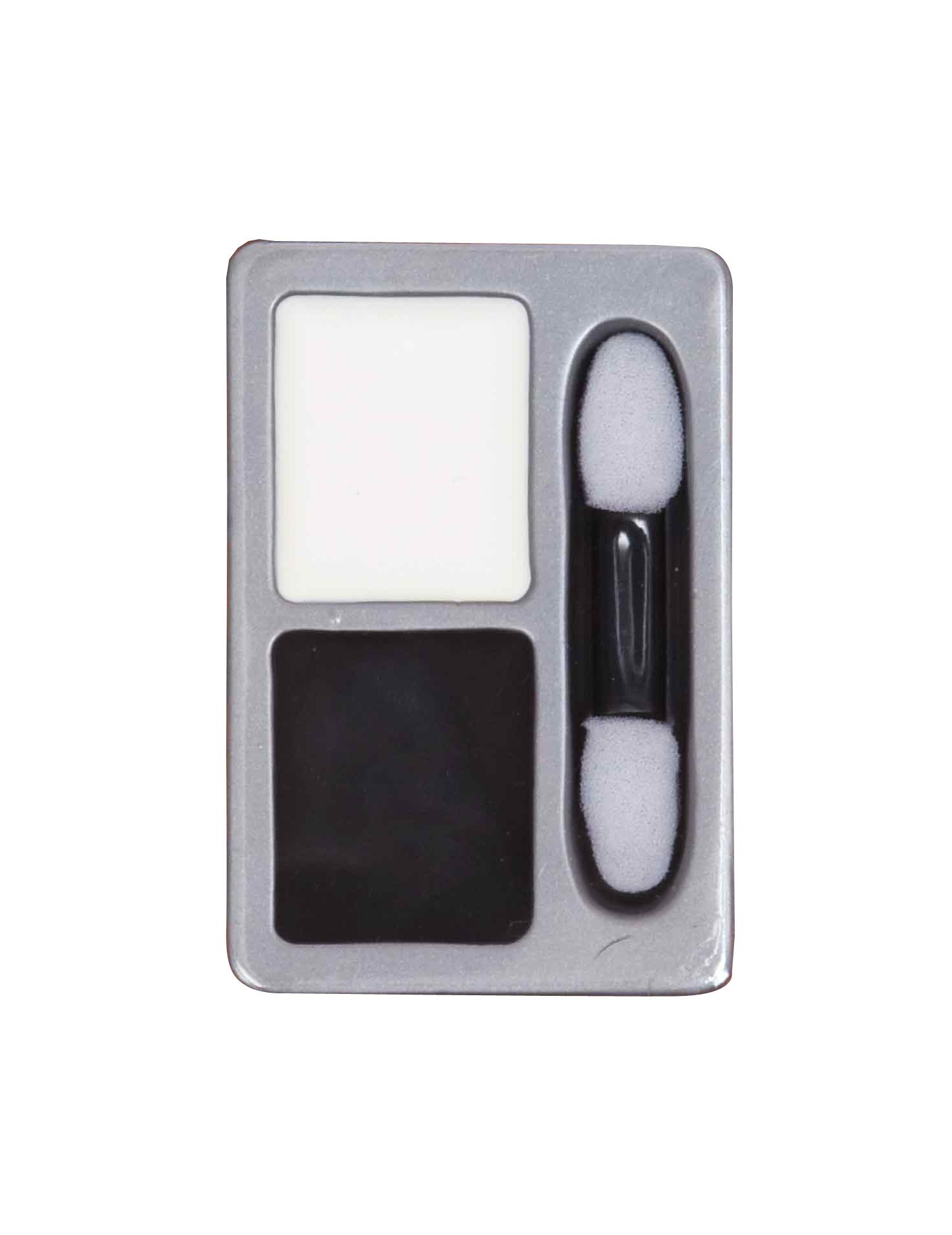 fard noir et blanc pour maquillages d 39 halloween. Black Bedroom Furniture Sets. Home Design Ideas