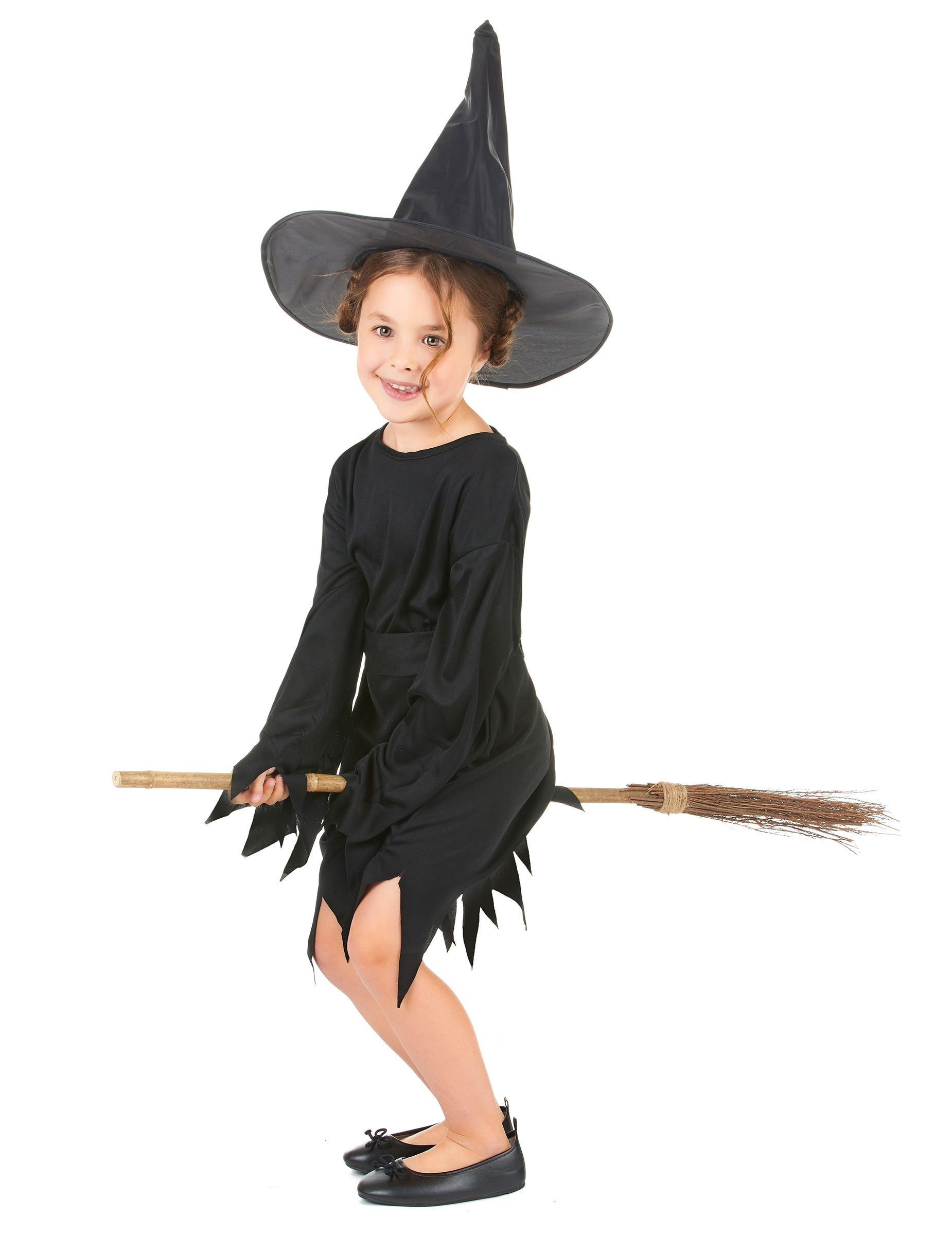 D guisement sorci re fille halloween achat de - Deguisement halloween enfant fille ...