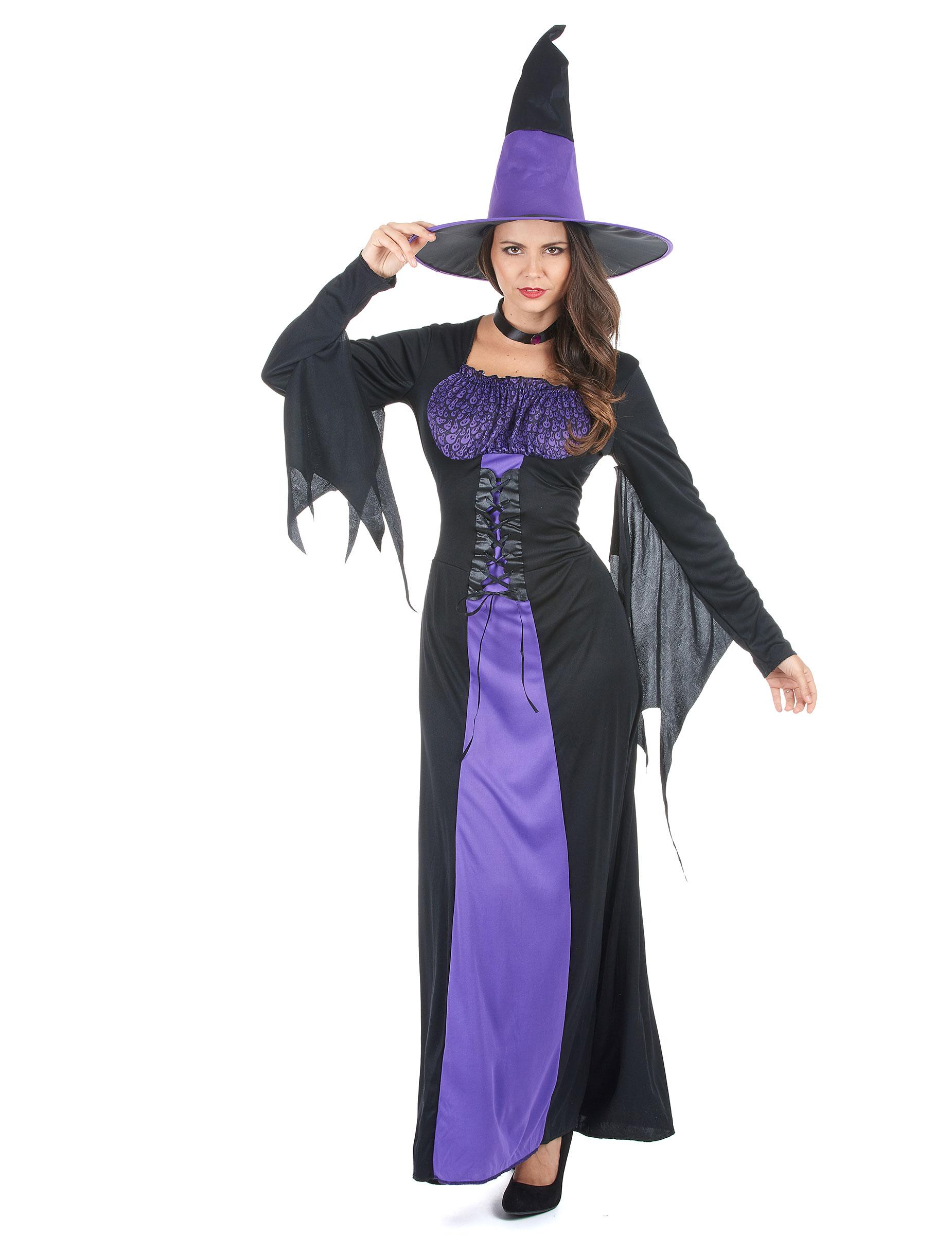 Costume de sorci re avec chapeau pointu pour halloween - Deguisetoi fr halloween ...