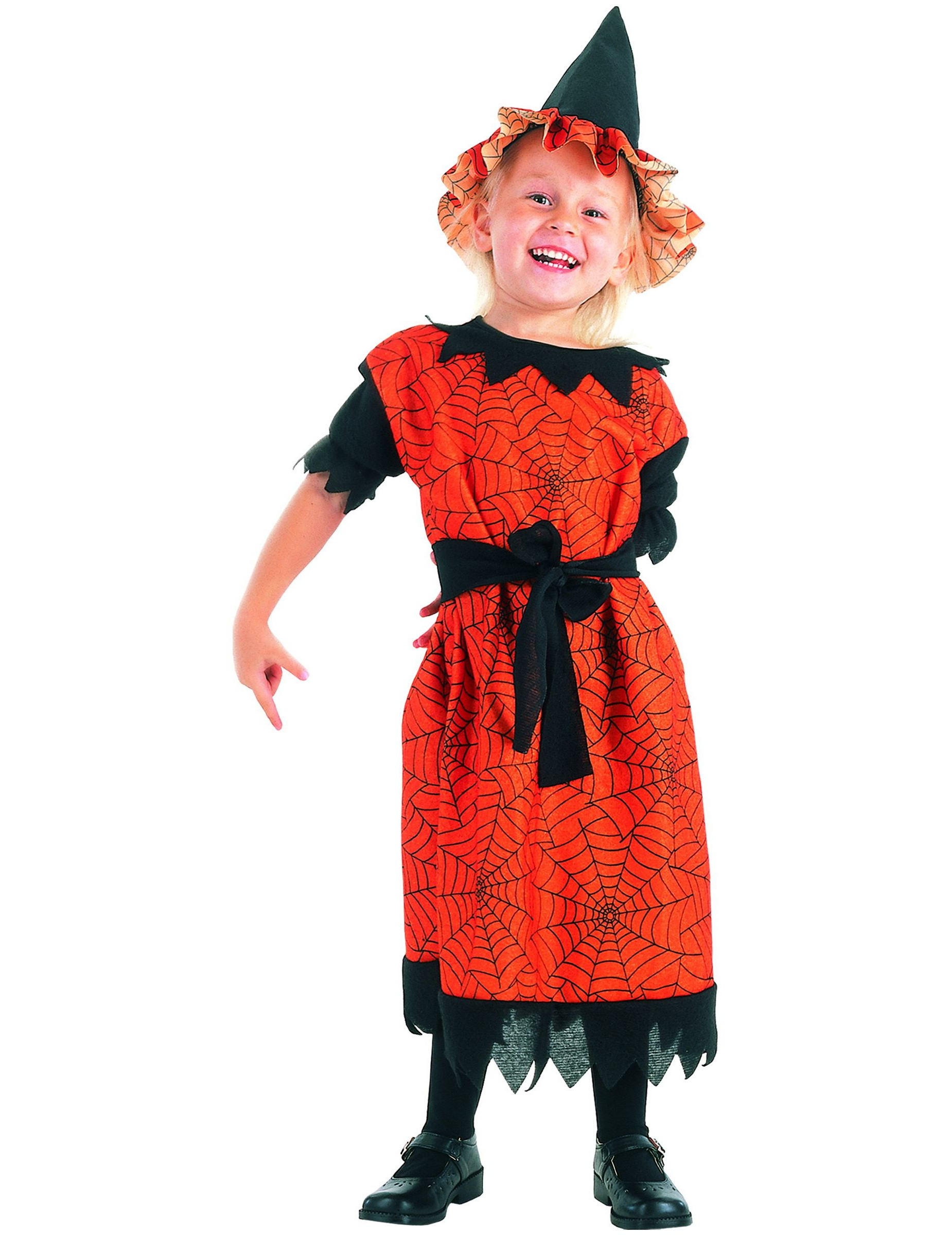 D guisement sorci re araign e fille halloween achat de - Deguisement fille halloween ...