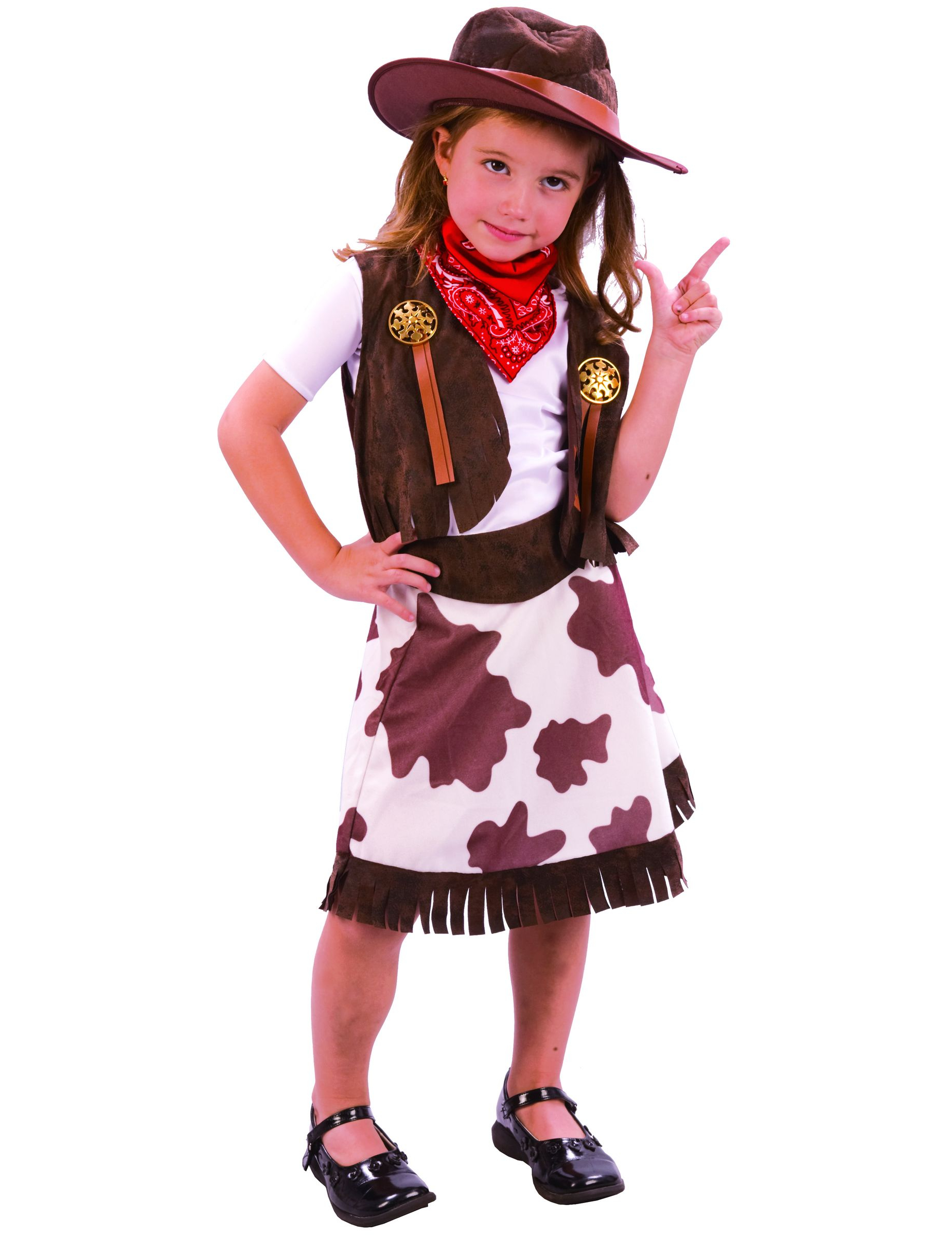 D Guisement Cowgirl Fille