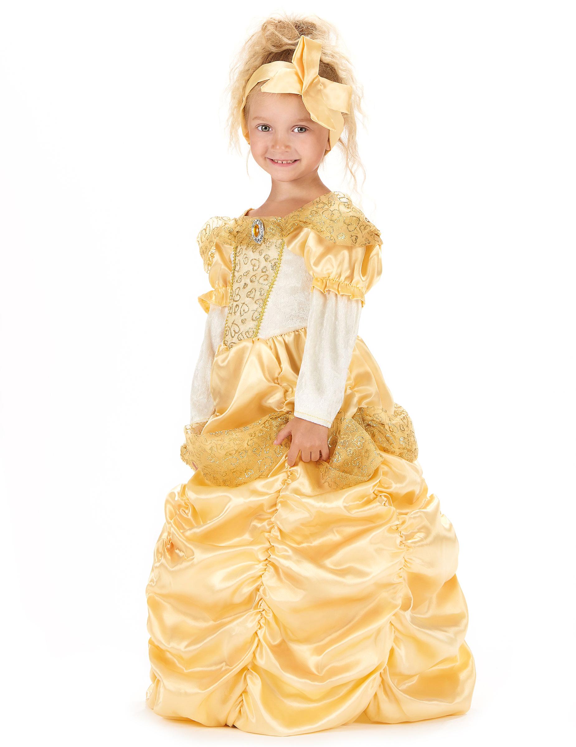D guisement princesse dor e fille deguise toi achat de d guisements enfants - Deguisement fille princesse ...