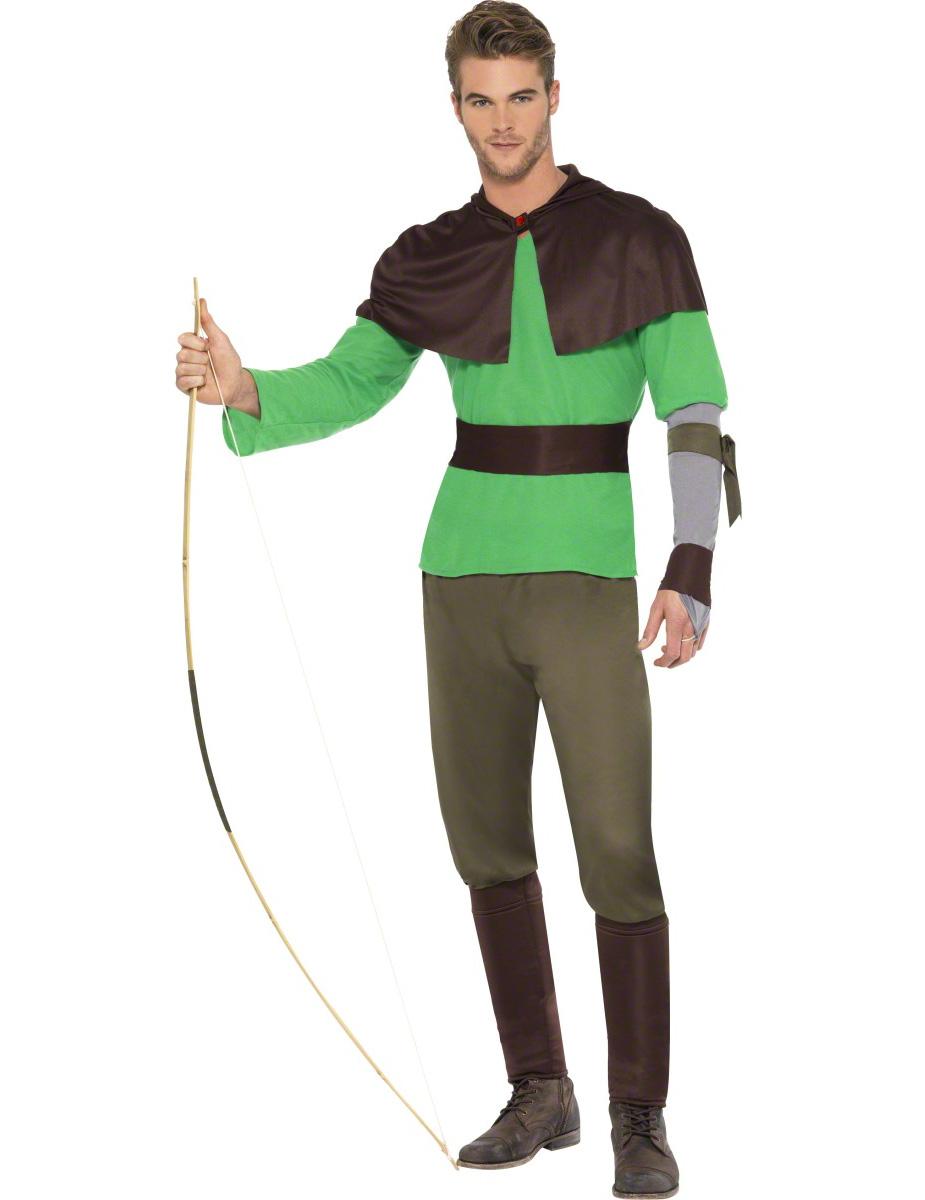 Woodsman costume for man ~ Costume Robin Des Bois