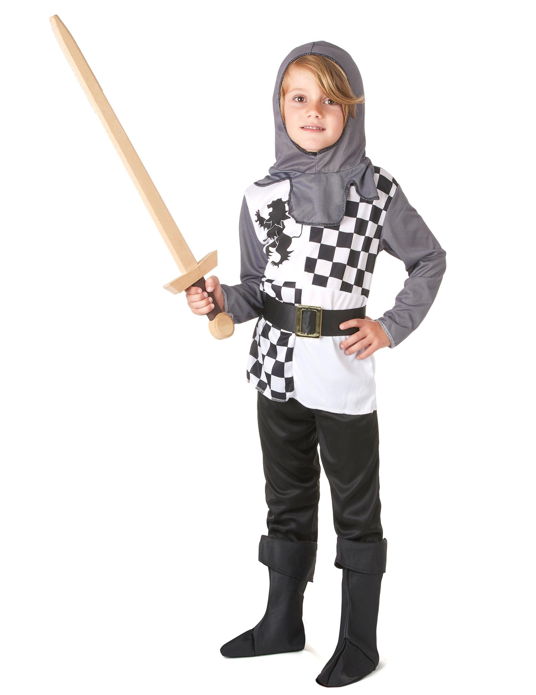 d guisement chevalier damier gar on deguise toi achat de d guisements enfants. Black Bedroom Furniture Sets. Home Design Ideas