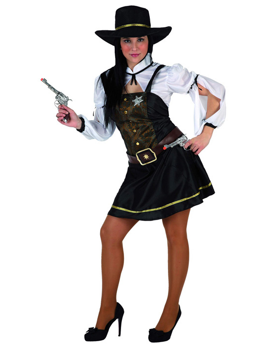 Déguisement Cowboy Fille Cowgirl Costume Enfant 7 9 Ans Disguise ...