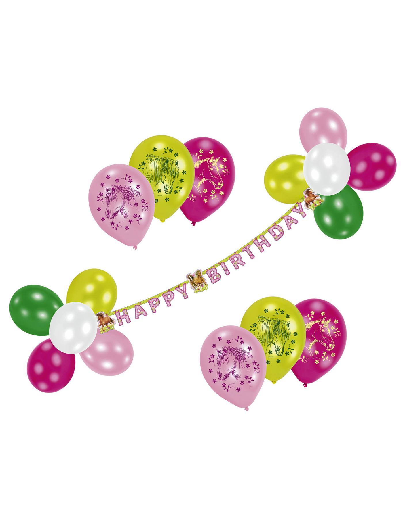 Geburtstagsdekoration pferd deko und g nstige for Geburtstagsdekoration