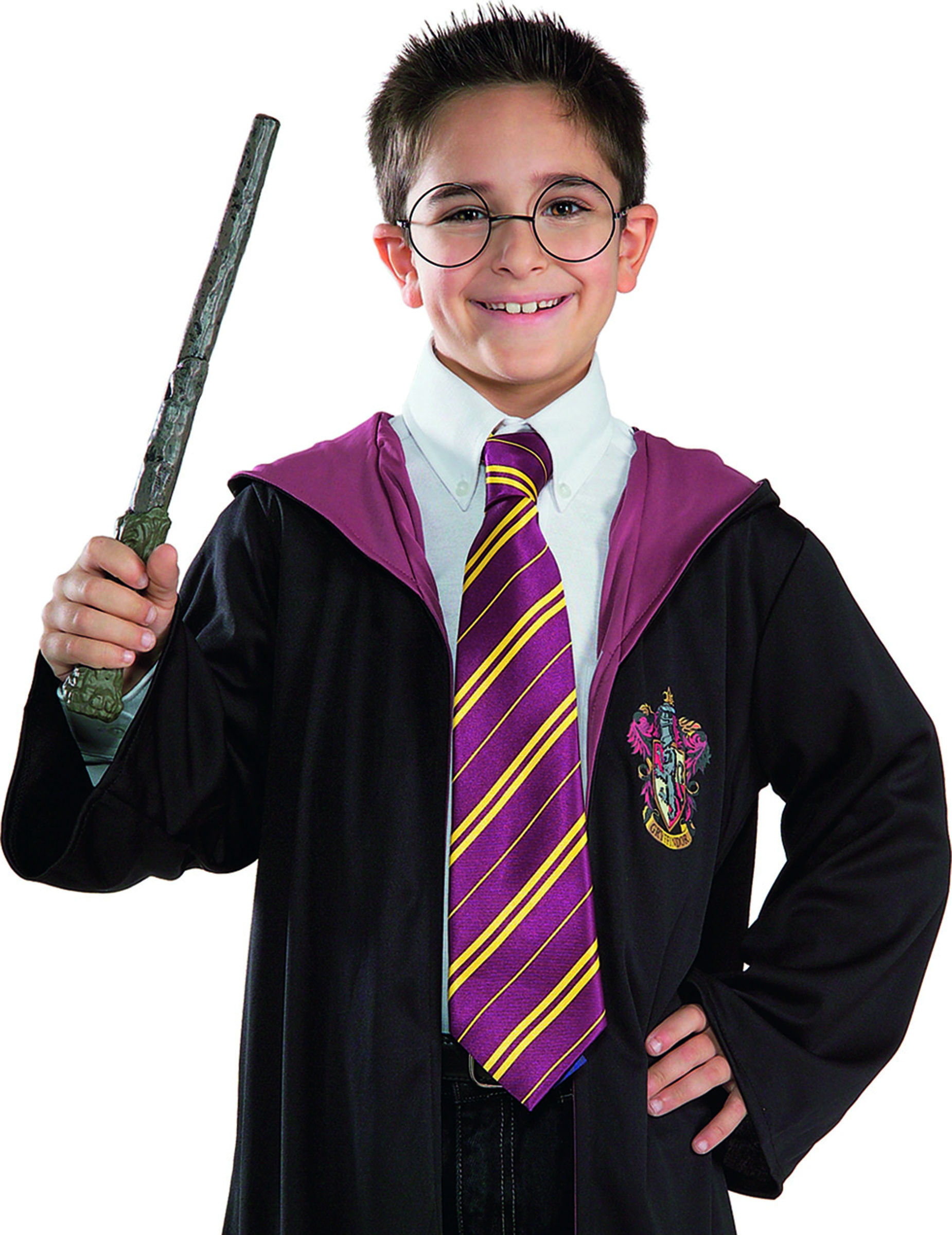 kit baguette magique & lunettes harry potter™ enfant : deguise-toi