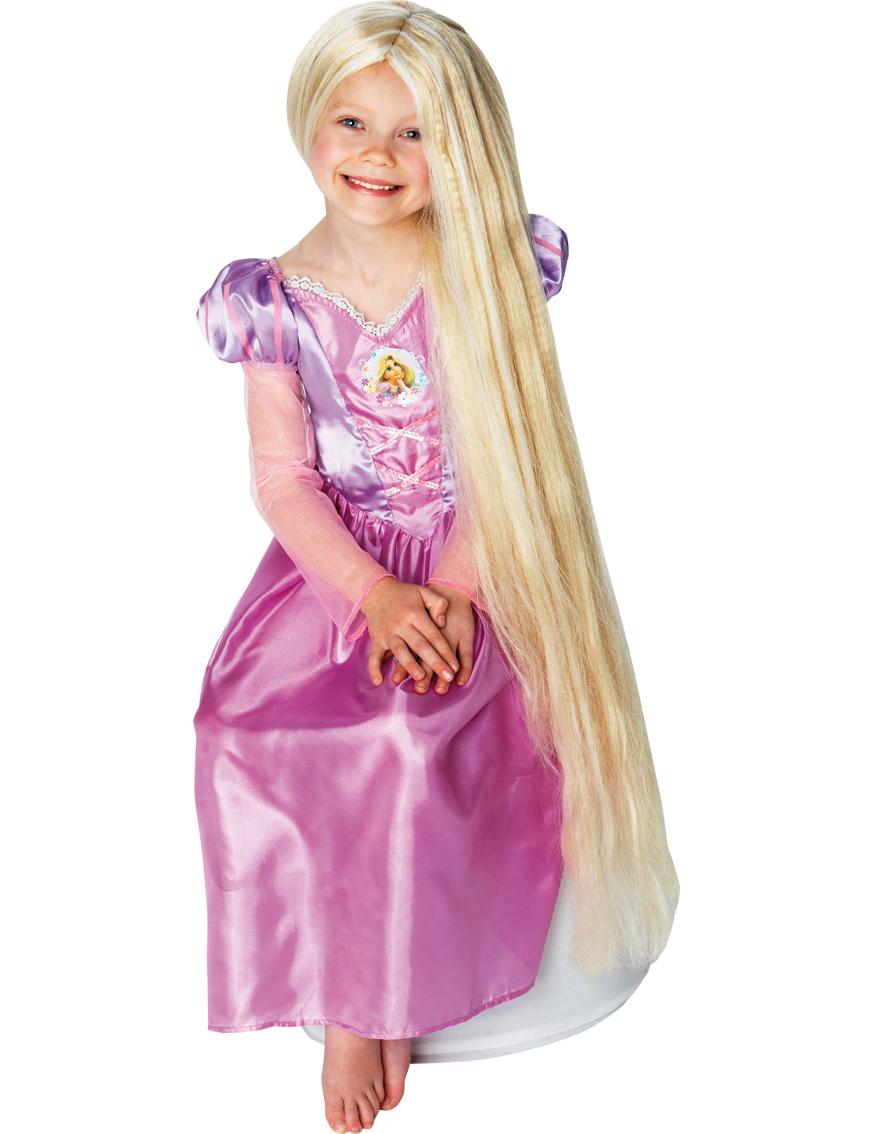 Perruque luminescente princesse raiponce fille deguise toi achat de perruques - Reponse la princesse ...