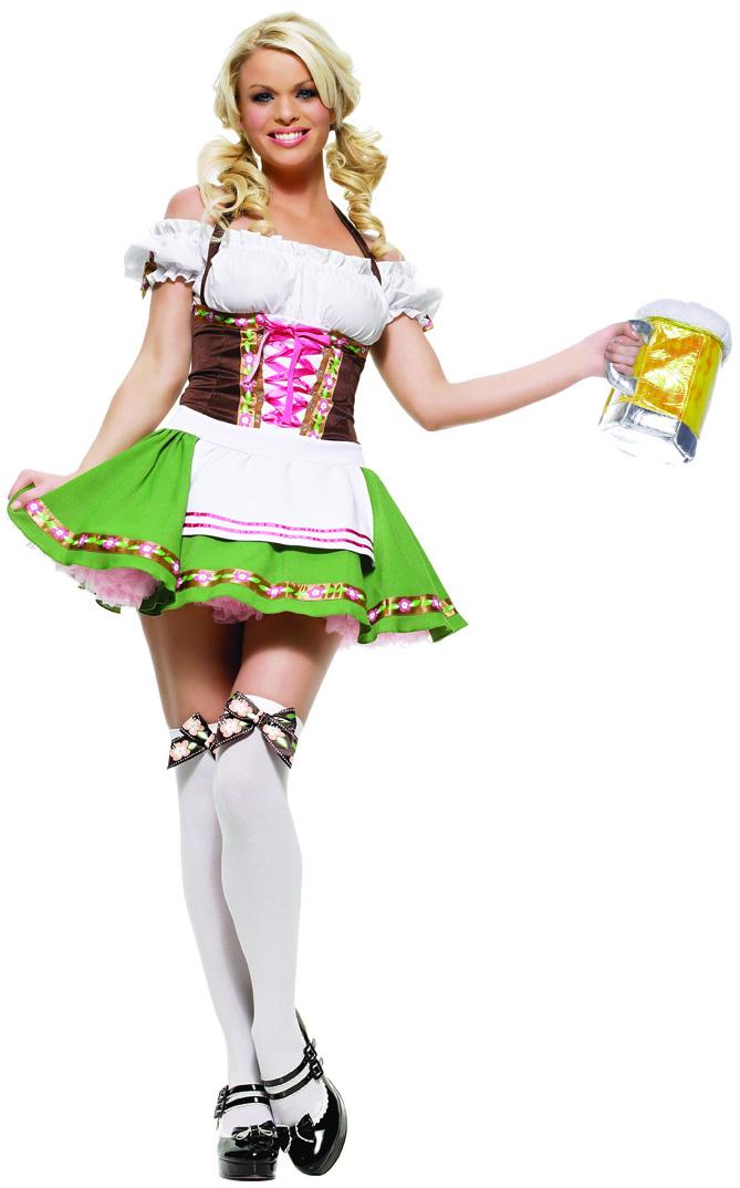Dirndl Kostüm für Damen: Kostüme für Erwachsene, und günstige ...