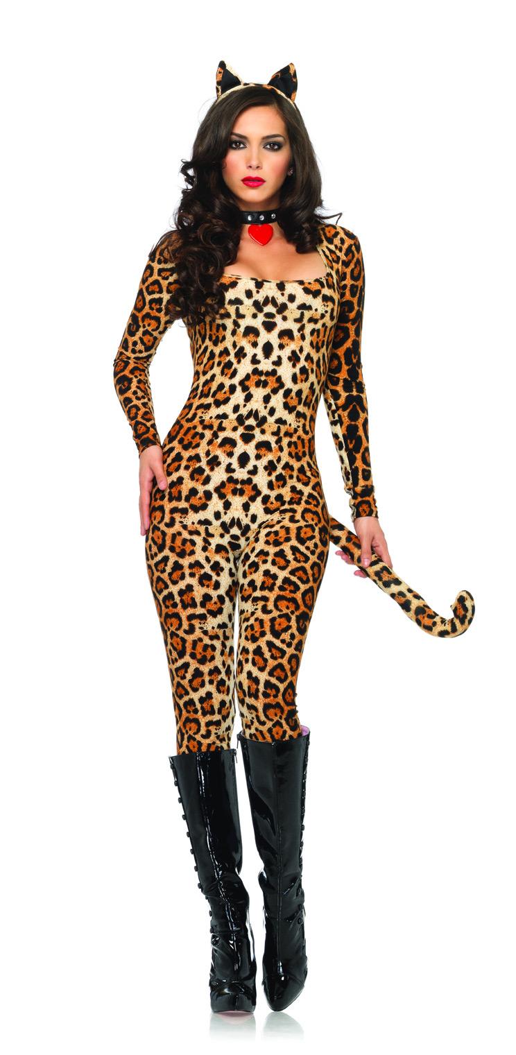 déguisement leopard homme