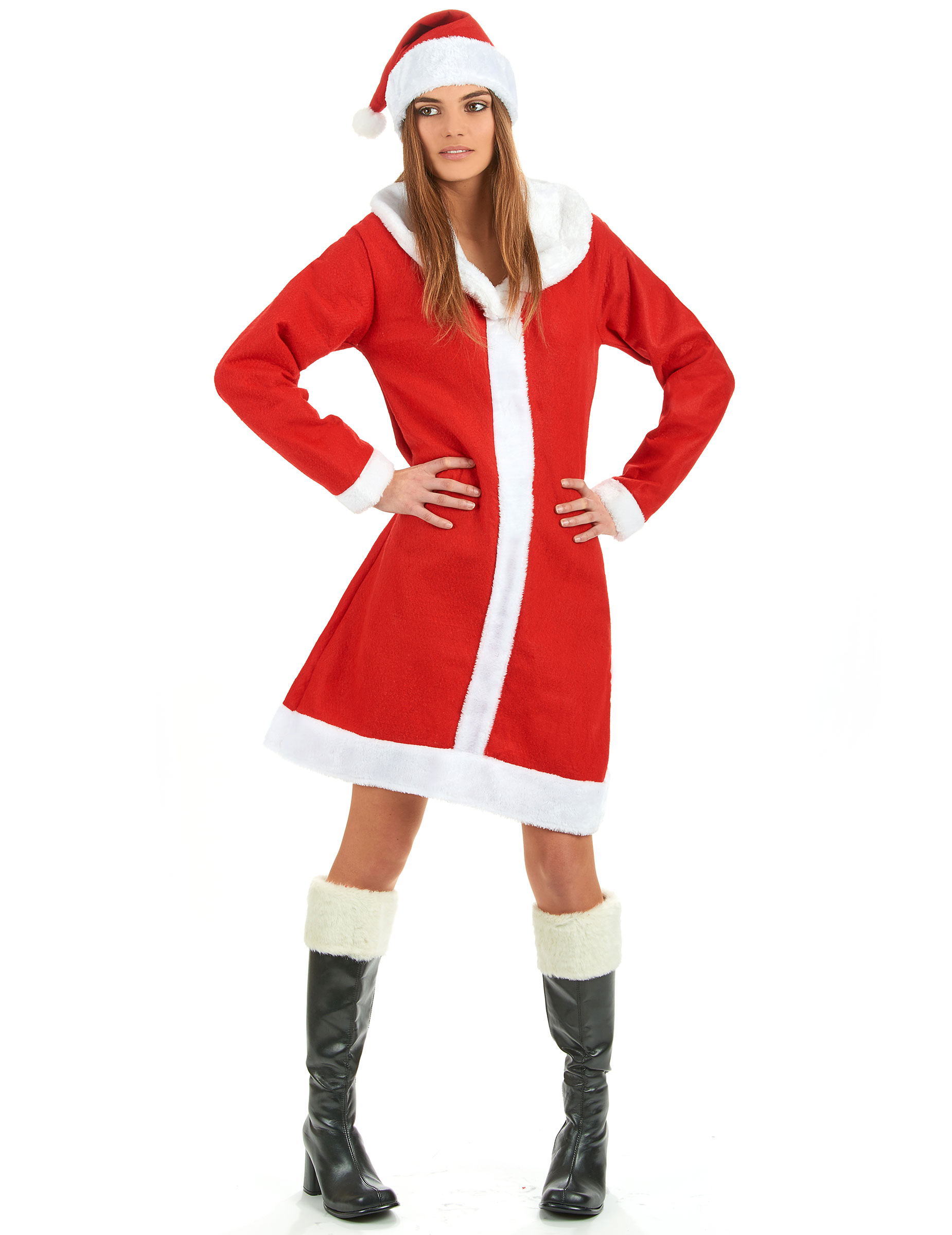 miss santa costume. Black Bedroom Furniture Sets. Home Design Ideas