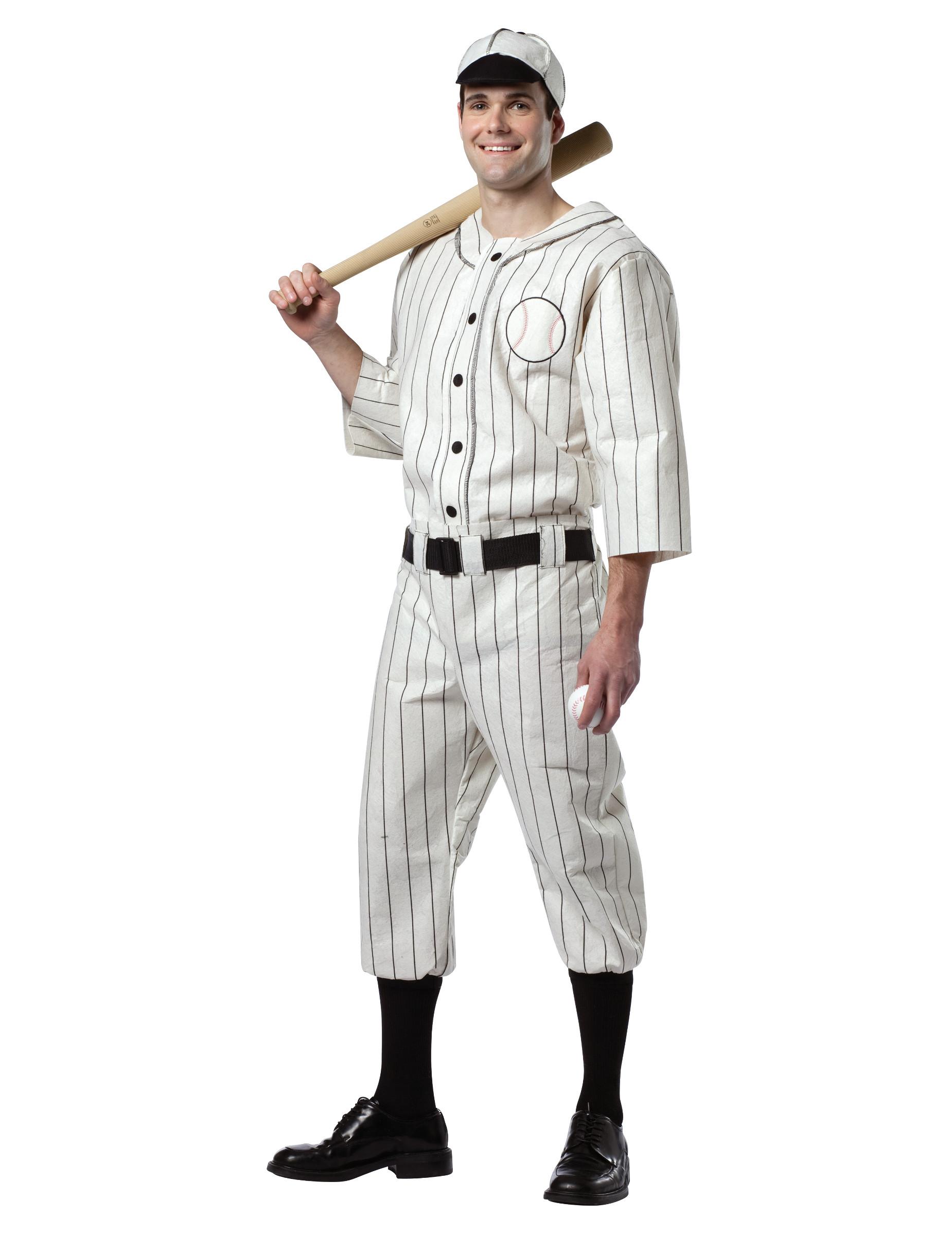disfraz de jugador de b isbol para hombre