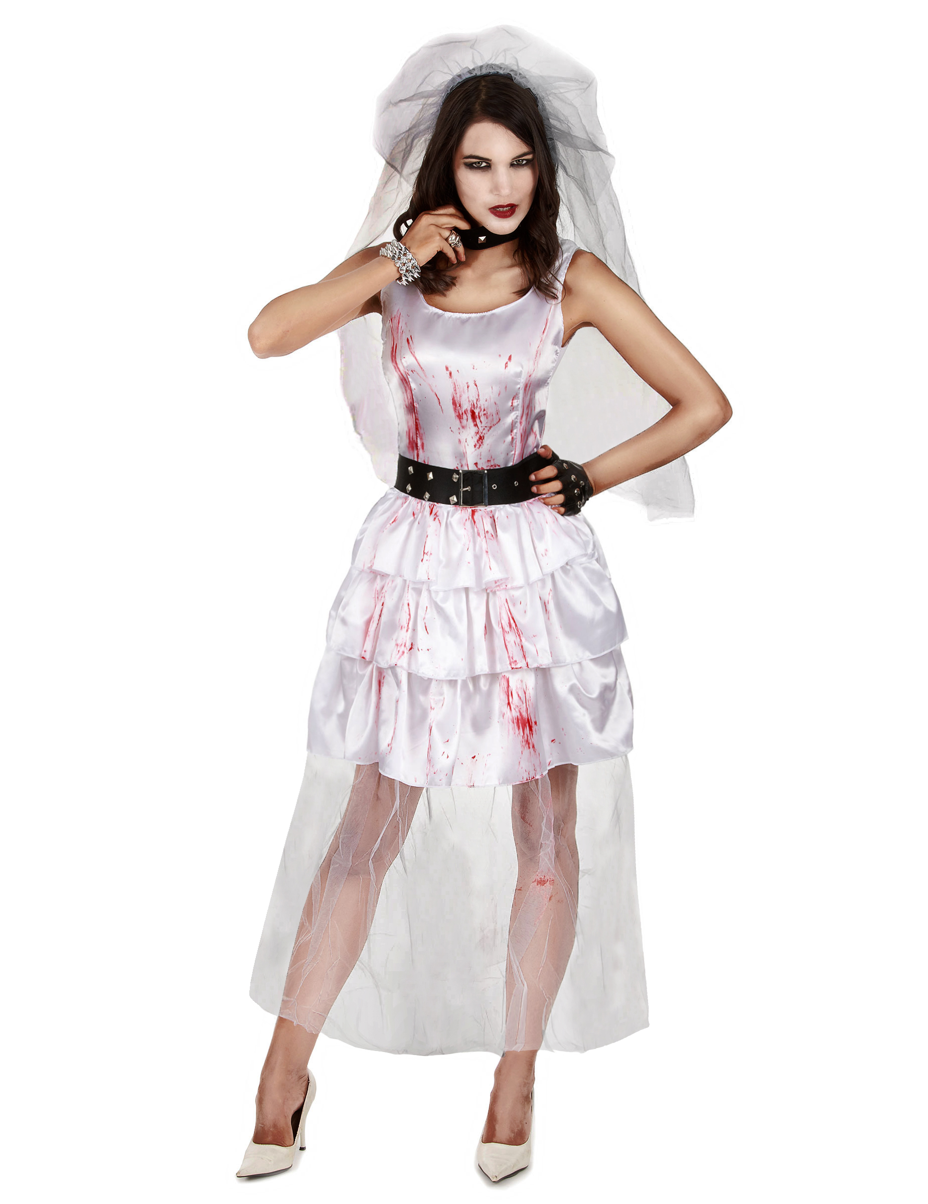 robe de mariee zombie deguisement femme robe de mariee halloween. Black Bedroom Furniture Sets. Home Design Ideas