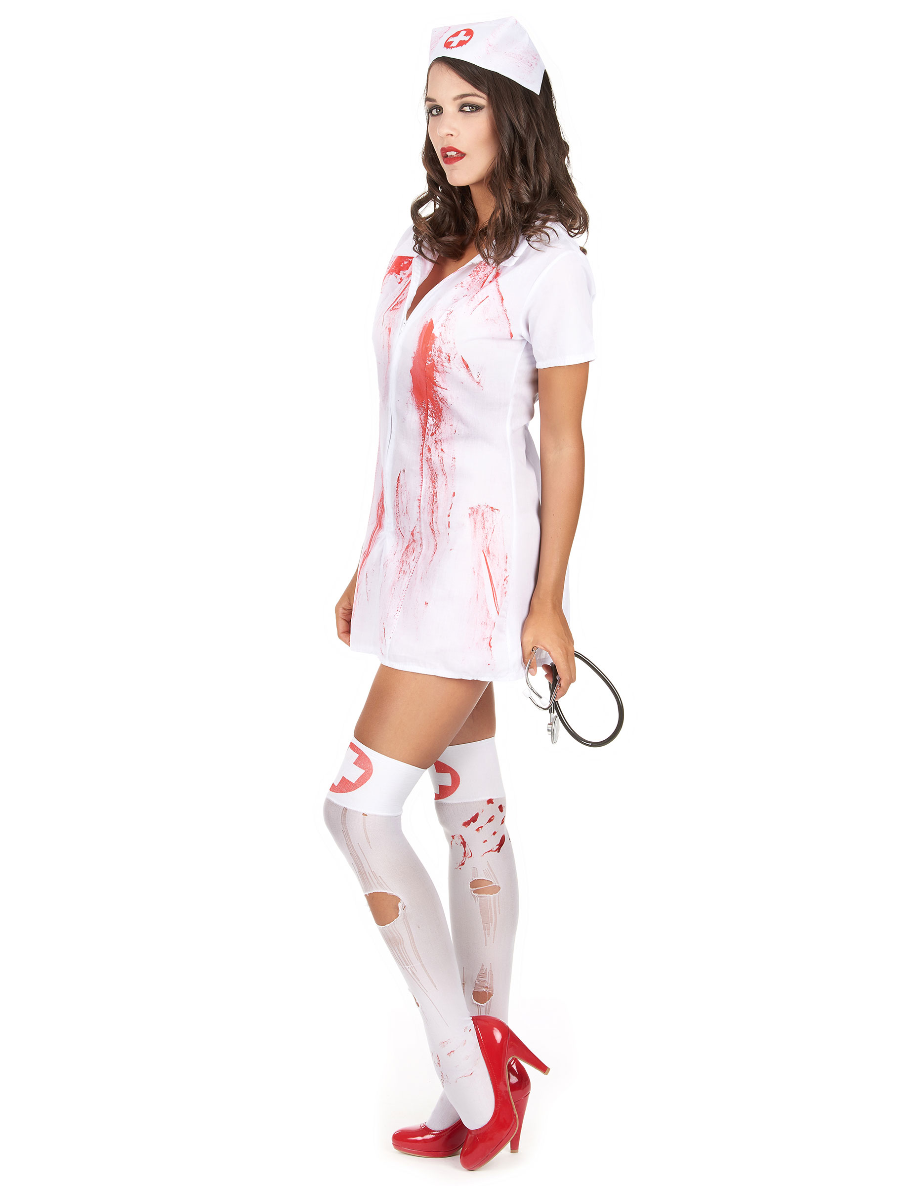 d guisement infirmi re psychopathe halloween deguise toi