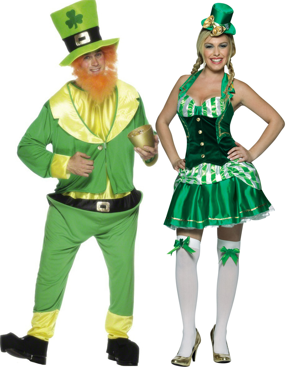 déguisement irlandais femme