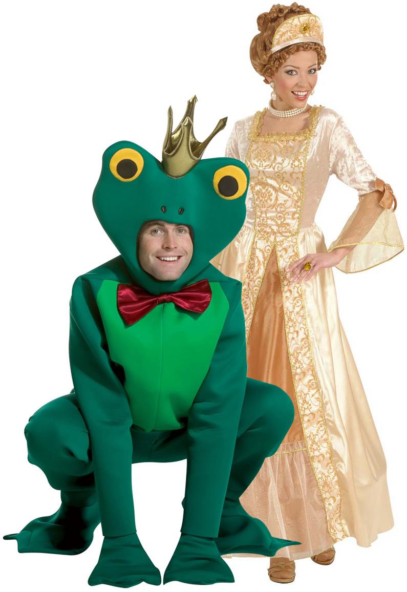 deguisement couple princesse grenouille