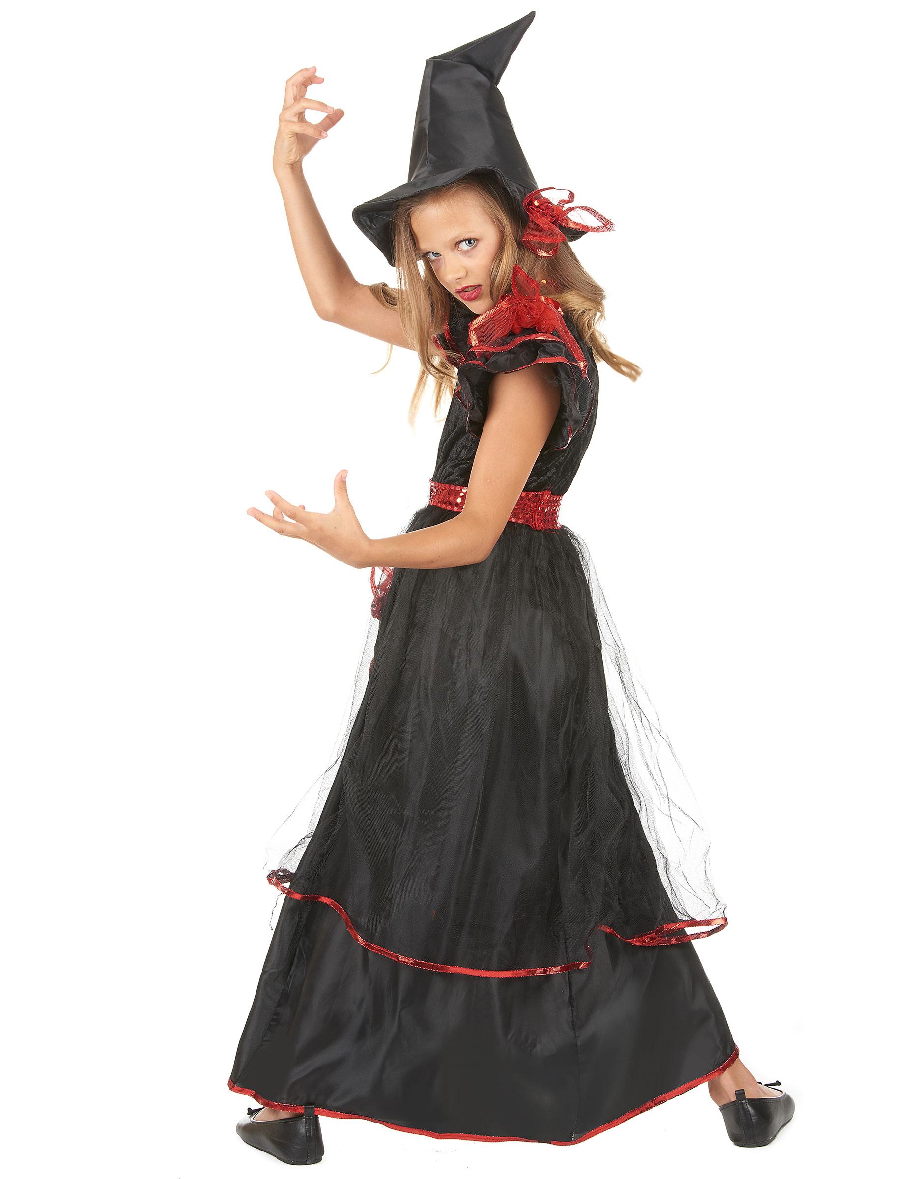 Costumes sorcieres - Costume halloween fille ...
