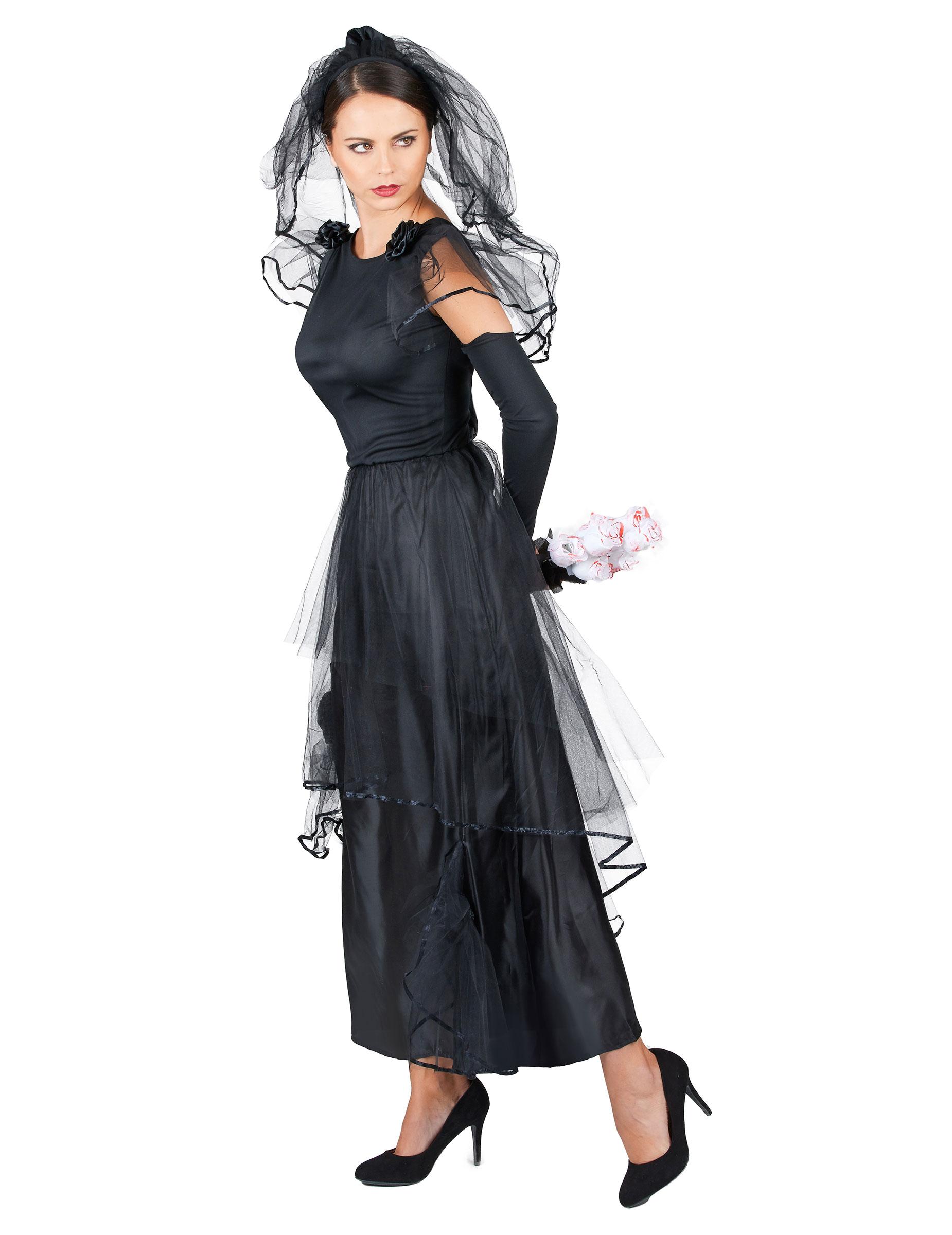 Mariées voile noir à