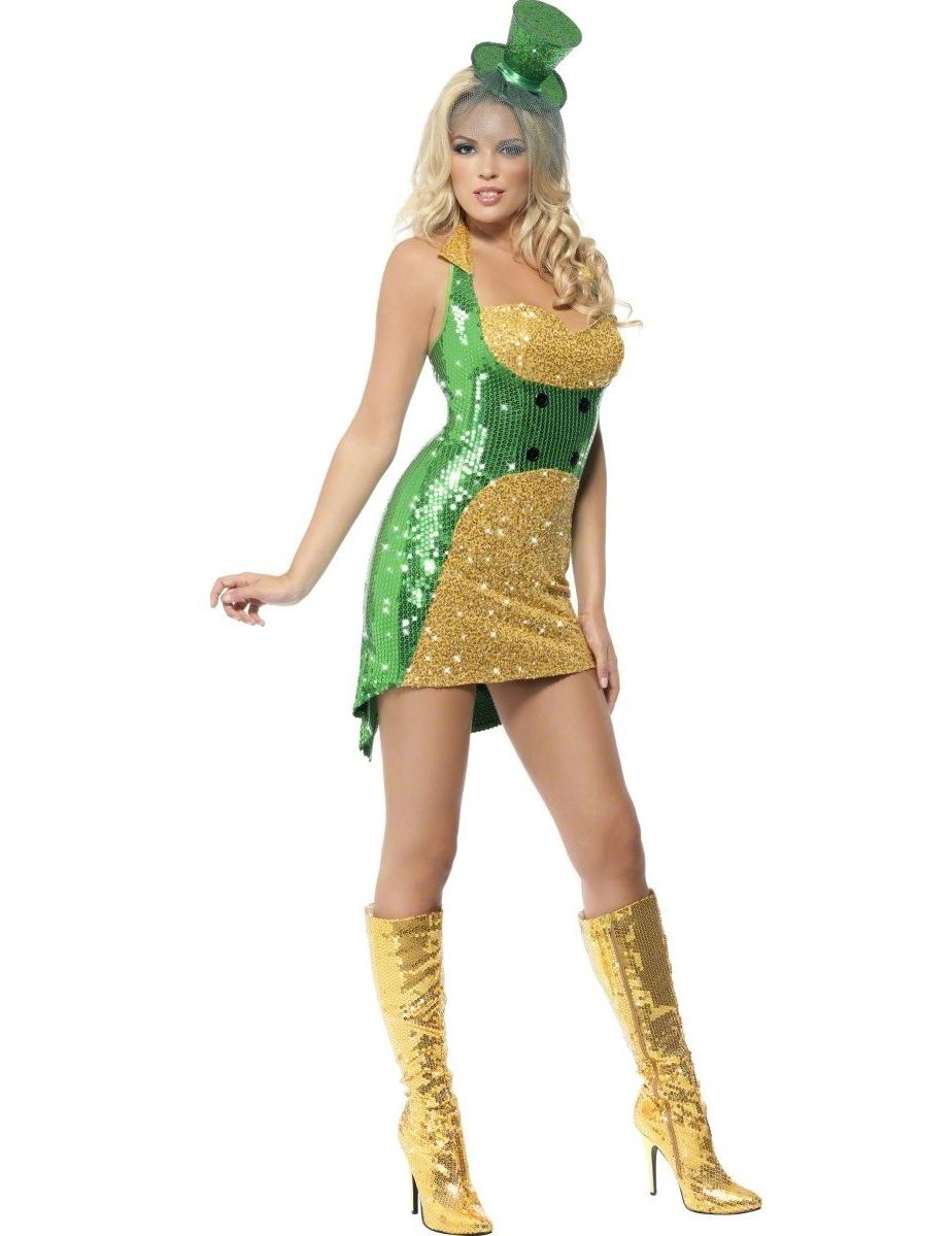 Vegaooit Costumi Adulti Costume Irlandese Sexy Donna