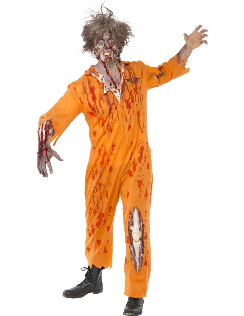 deguisement zombie prisonnier