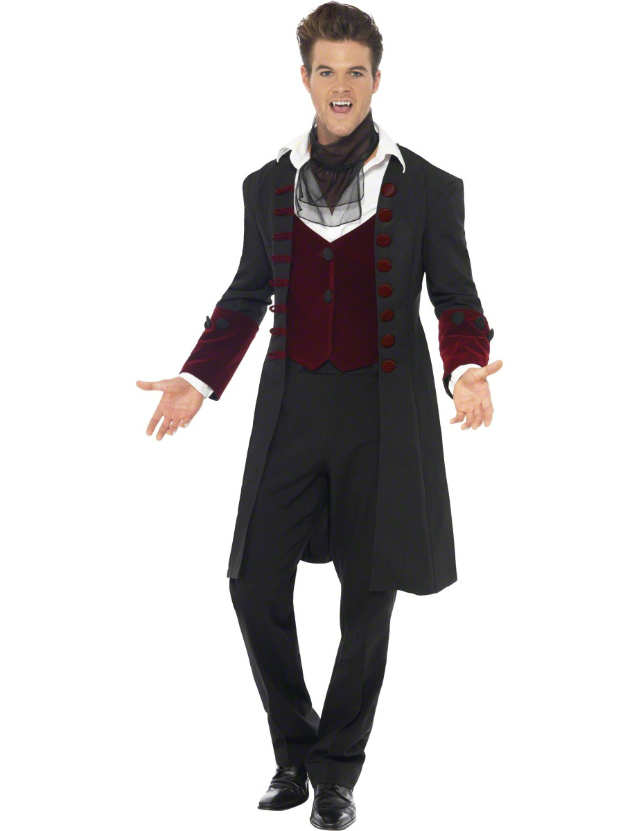 vampire costume for men. Black Bedroom Furniture Sets. Home Design Ideas
