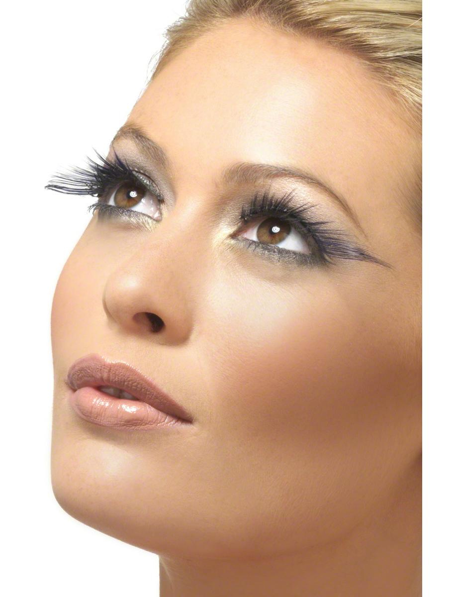 Faux cils vert et noir strass femme deguise toi achat de maquillage for Bureaux adolescente noir et strass