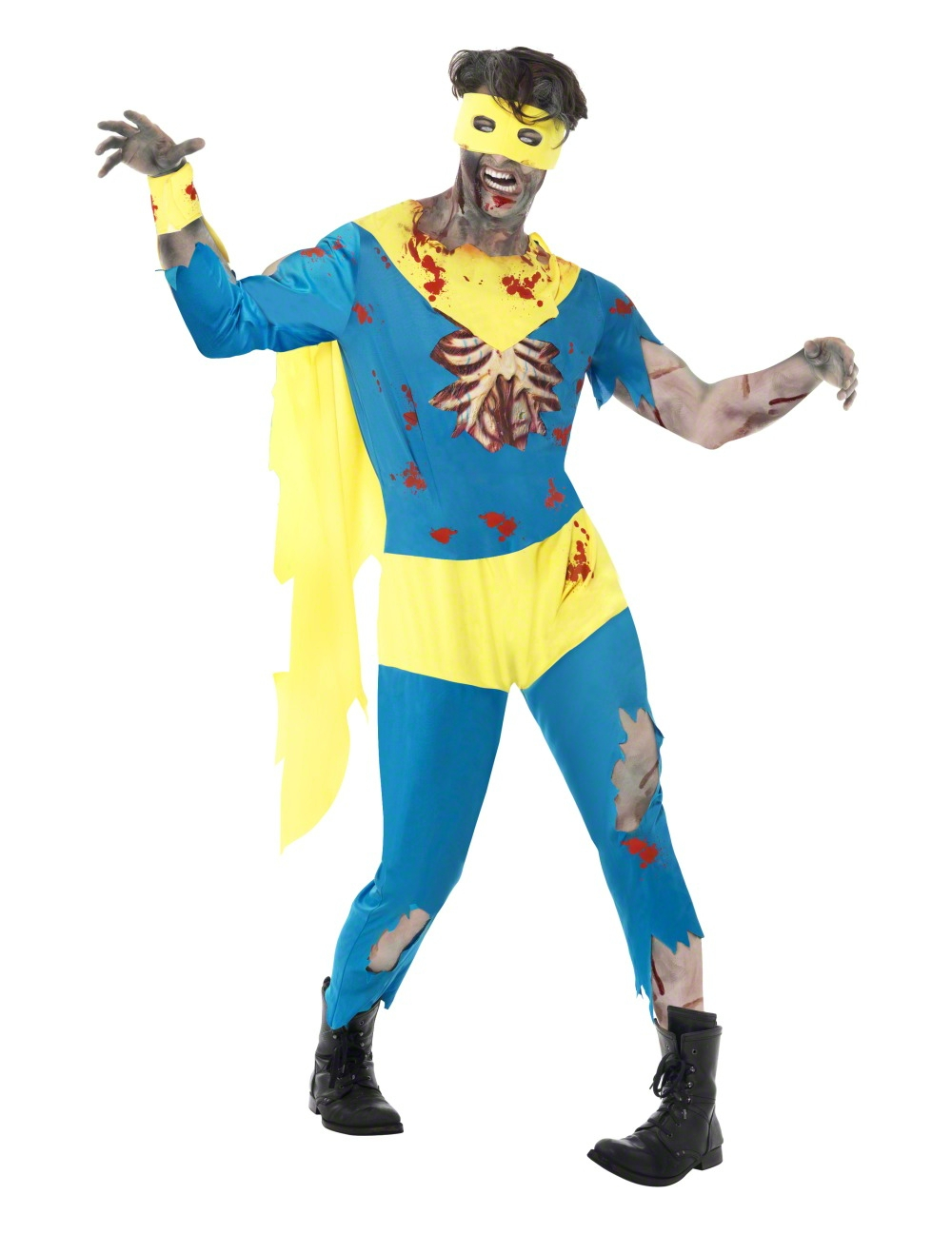 zombie superhero costume adults costumes and fancy dress costumes vegaoo. Black Bedroom Furniture Sets. Home Design Ideas