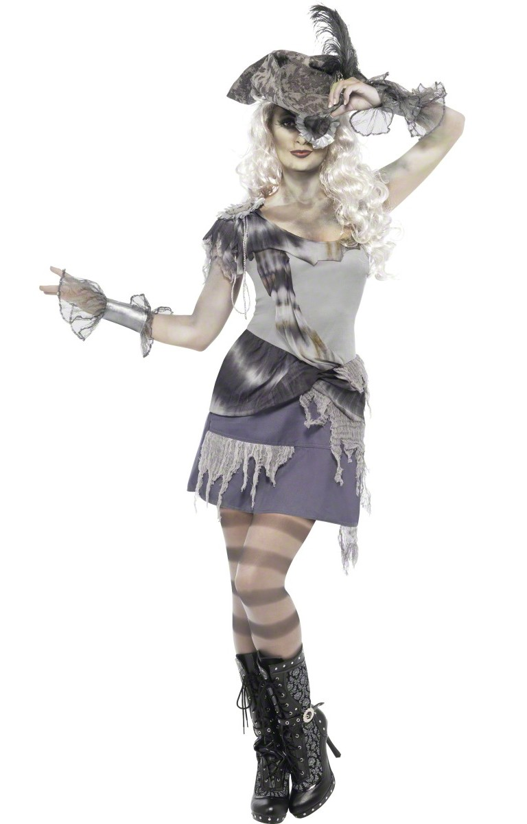 ghost pirate costume for women. Black Bedroom Furniture Sets. Home Design Ideas