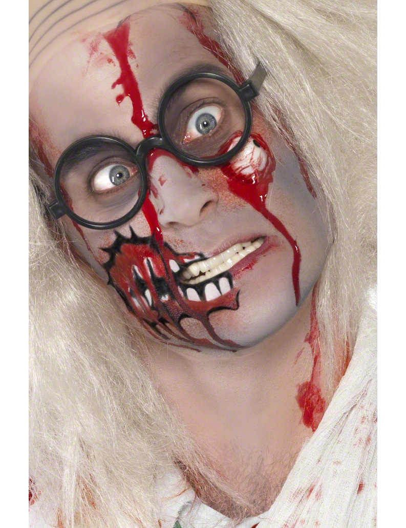 Maquillage zombie adulte halloween - Halloween adulte ...