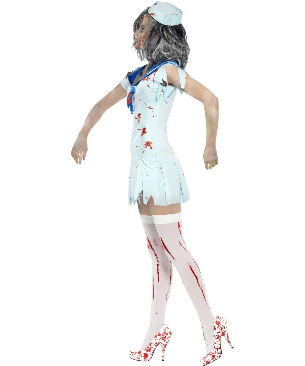 Zombie Sailor Costume For Women