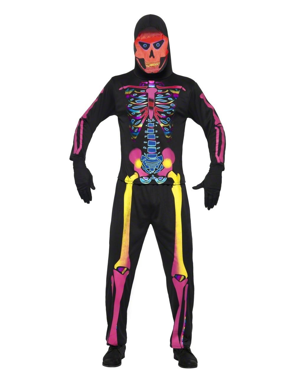 Skeleton costume for Comcostume halloween homme original