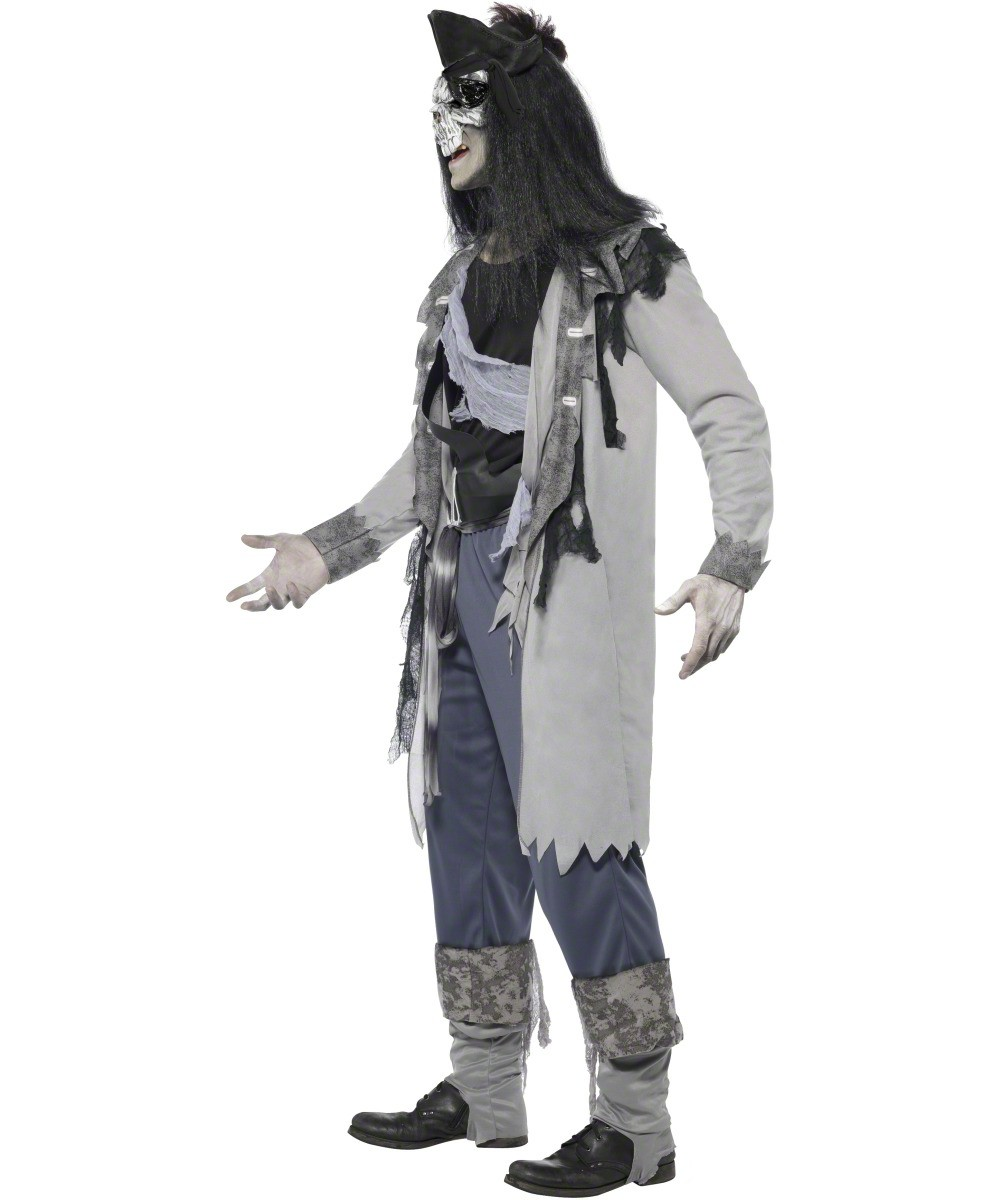 ghost pirate costume for men halloween. Black Bedroom Furniture Sets. Home Design Ideas