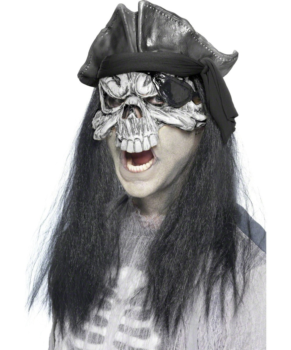 Masque fant me pirate adulte halloween deguise toi - Pirate fantome ...