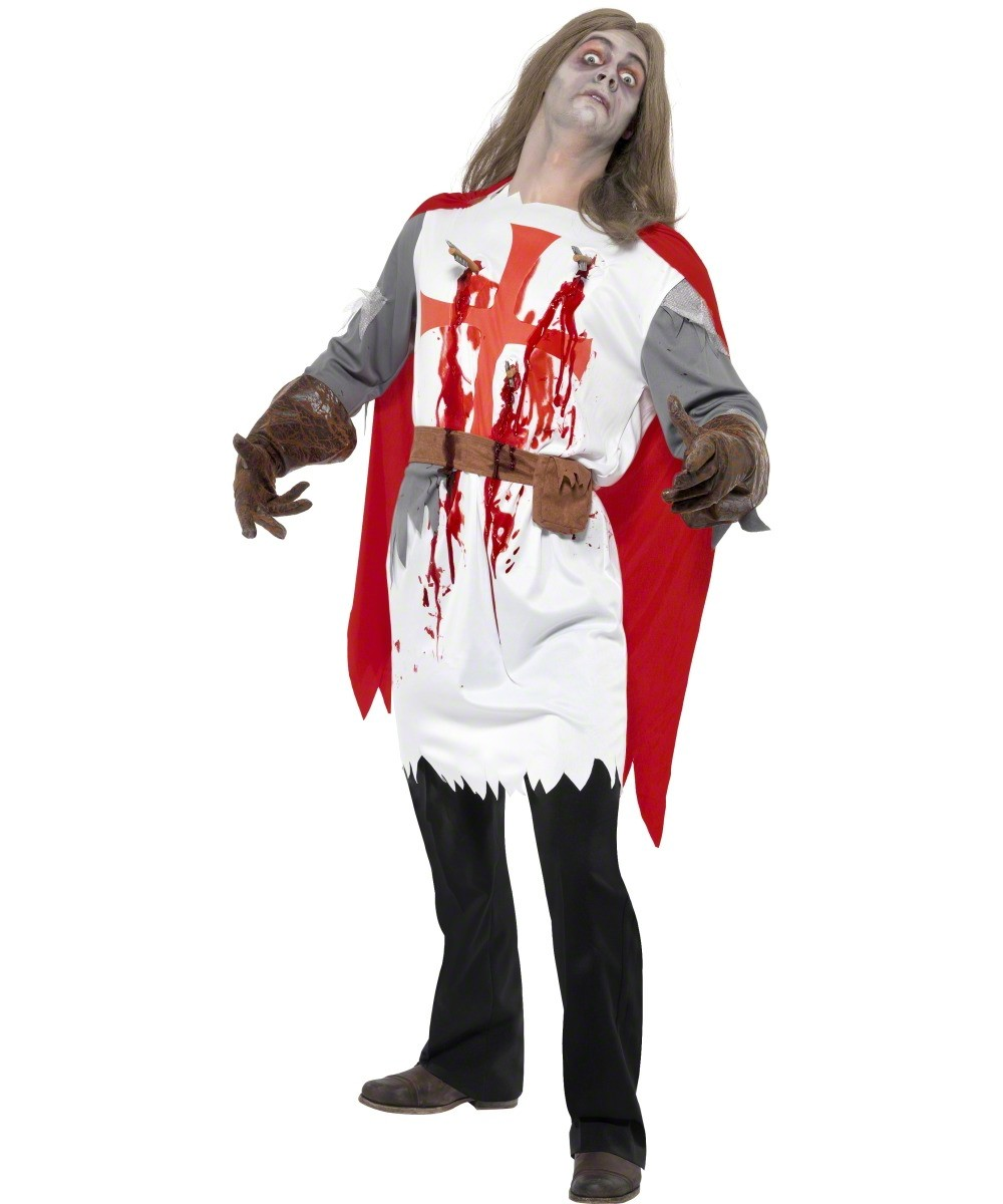 D guisement chevalier zombie adulte halloween - Deguisement halloween adulte ...