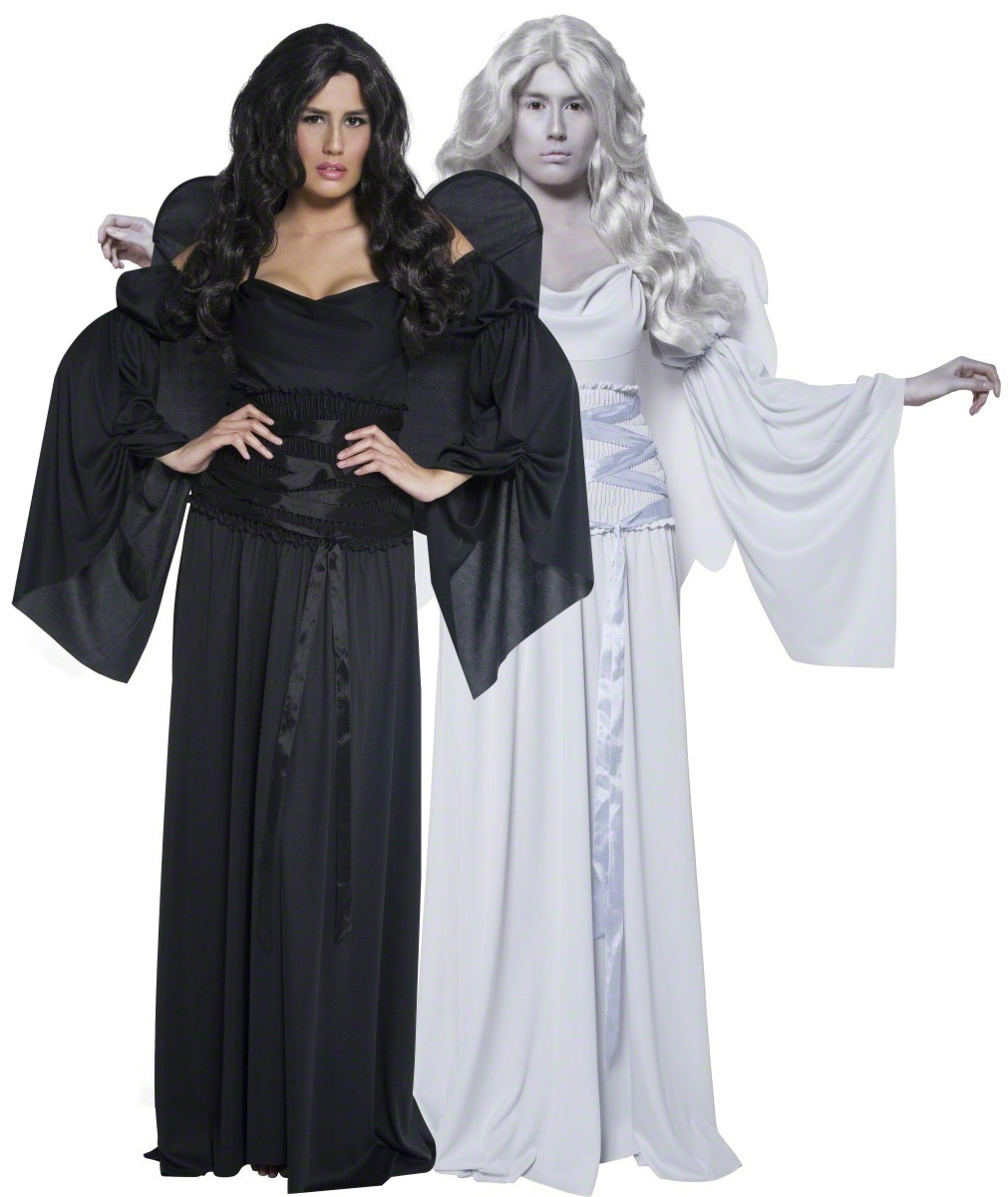 D guisement couple anges halloween - Deguisement couple halloween ...