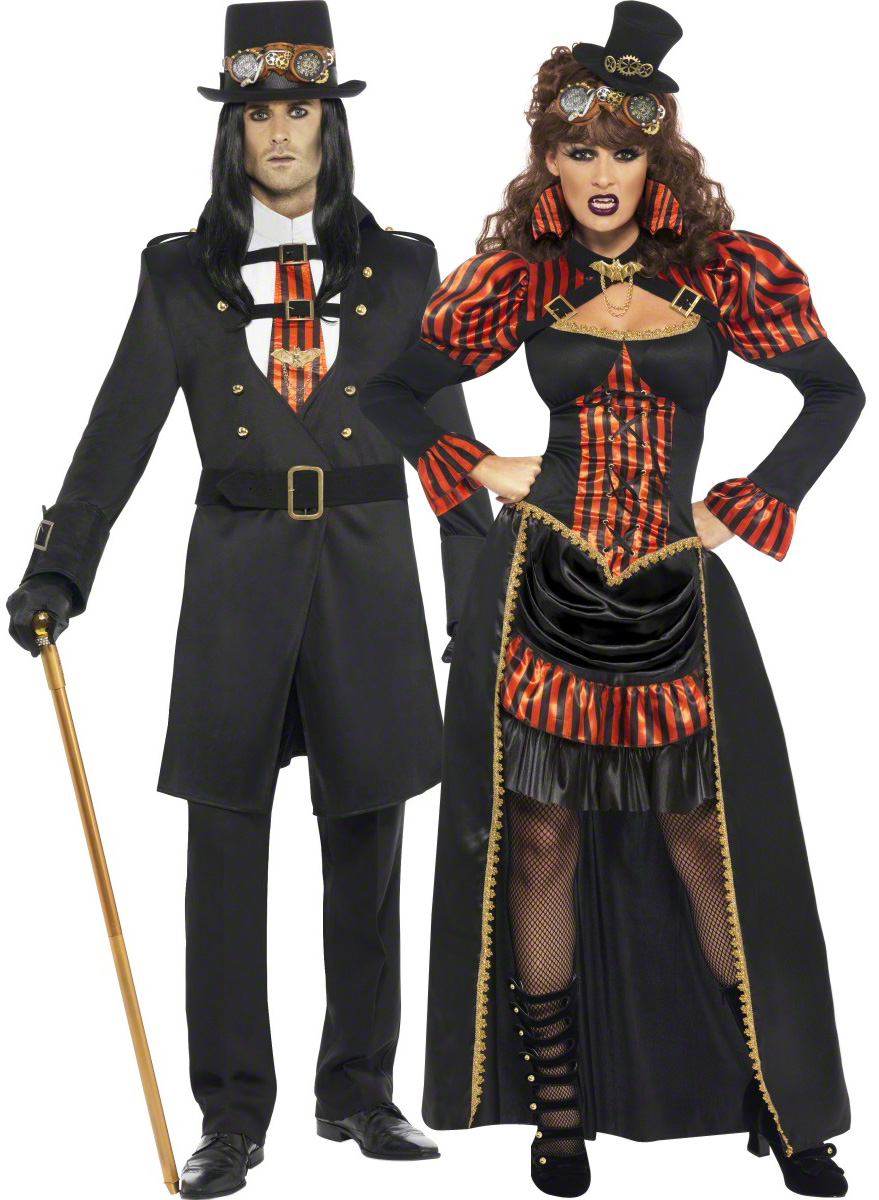 Steampunk costume for couples - Deguisement halloween couple ...