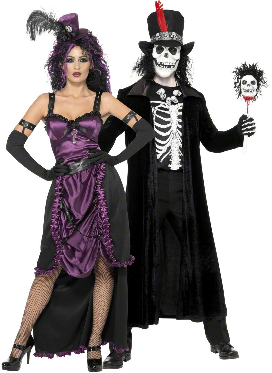 Gothic costume for couples - Deguisement halloween couple ...