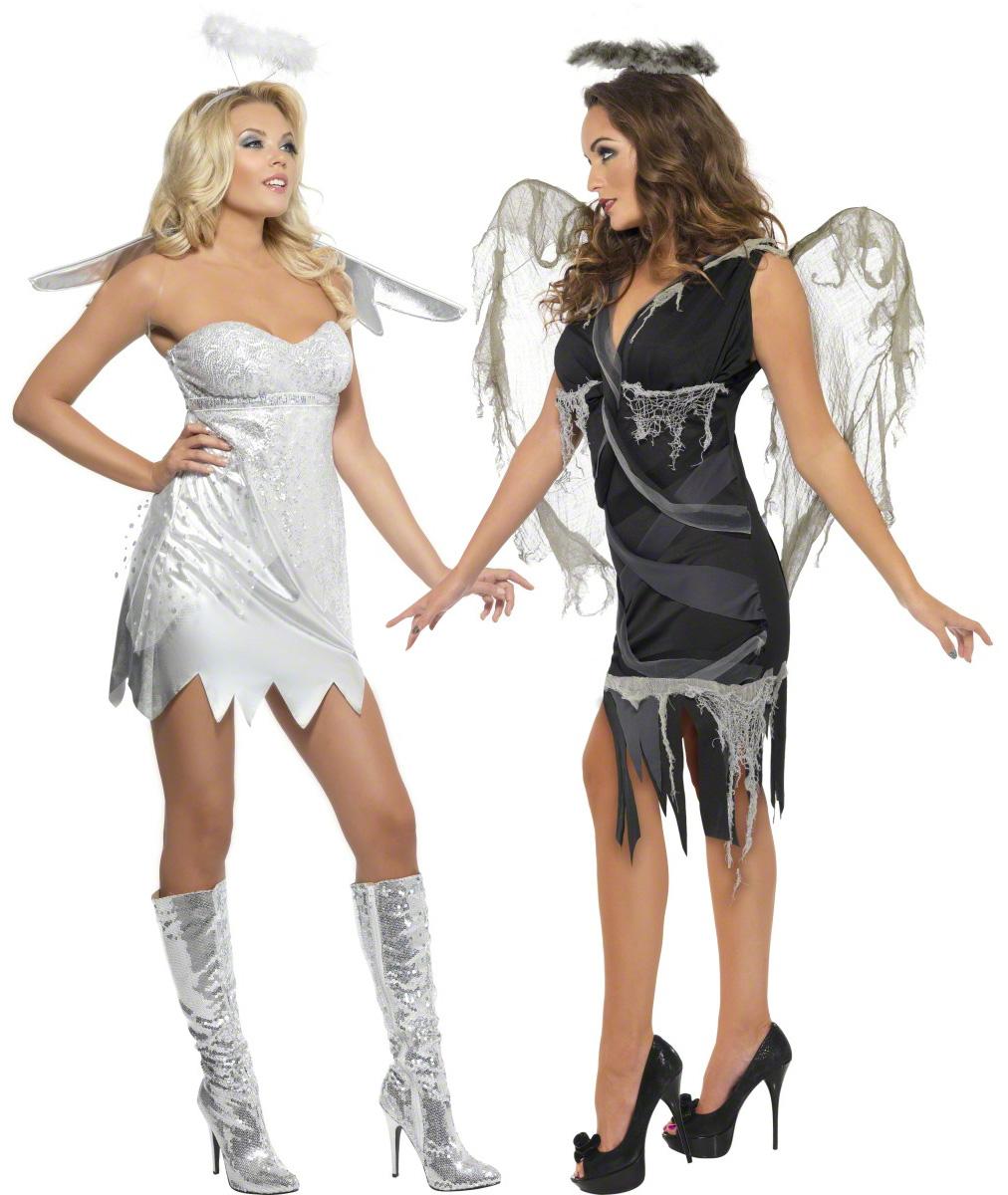Angel costume for couples for Disfraces de angeles