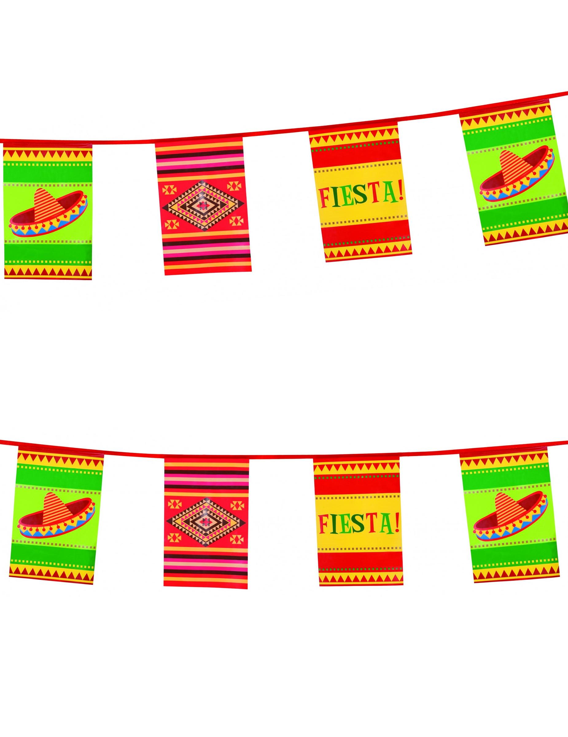 Guirlande mexicaine deguise toi achat de decoration animation - Decoration mexicaine a imprimer ...