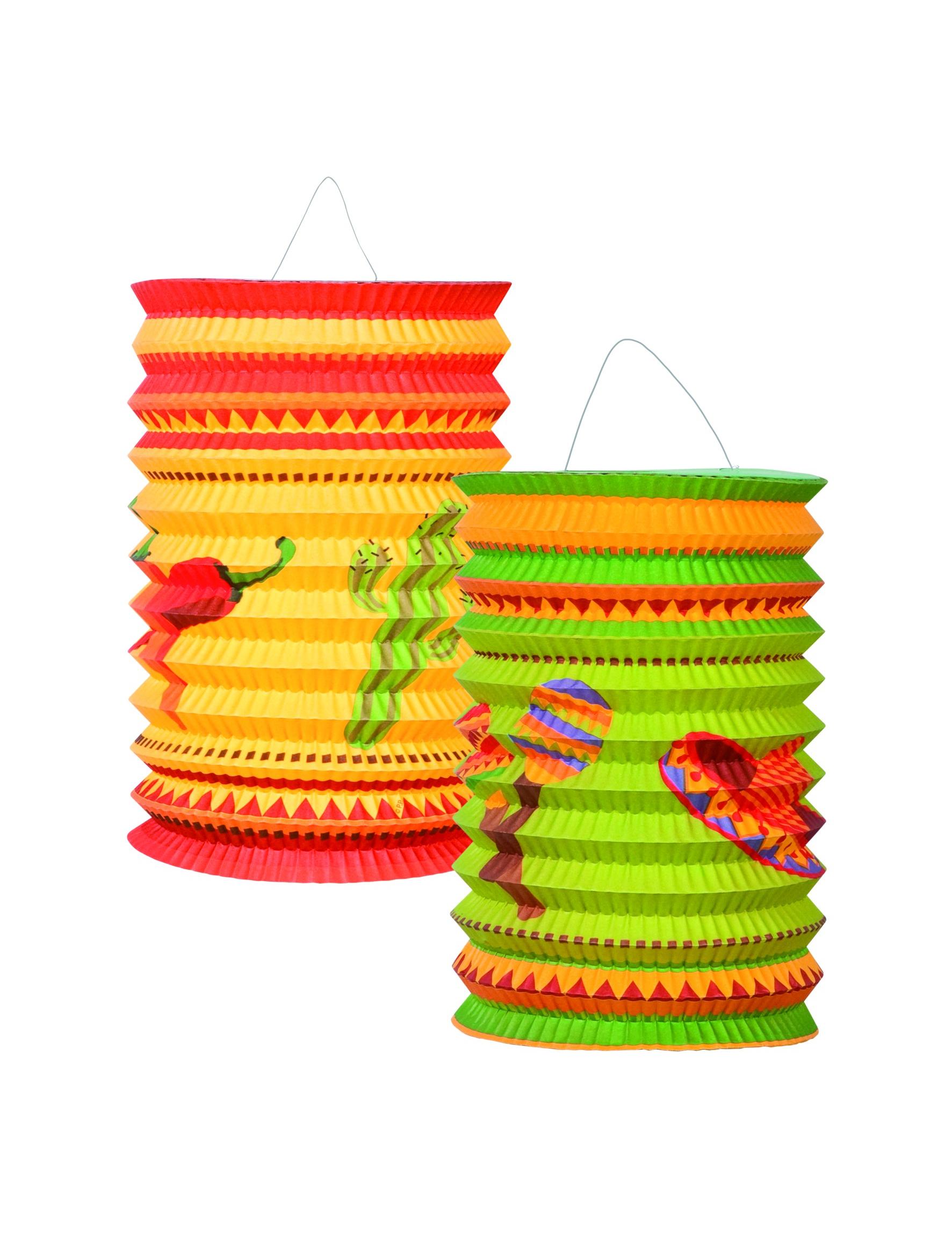 Lanterne mexicaine - Decoration mexicaine a imprimer ...