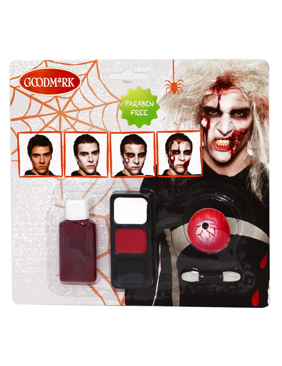 maquillage halloween kit
