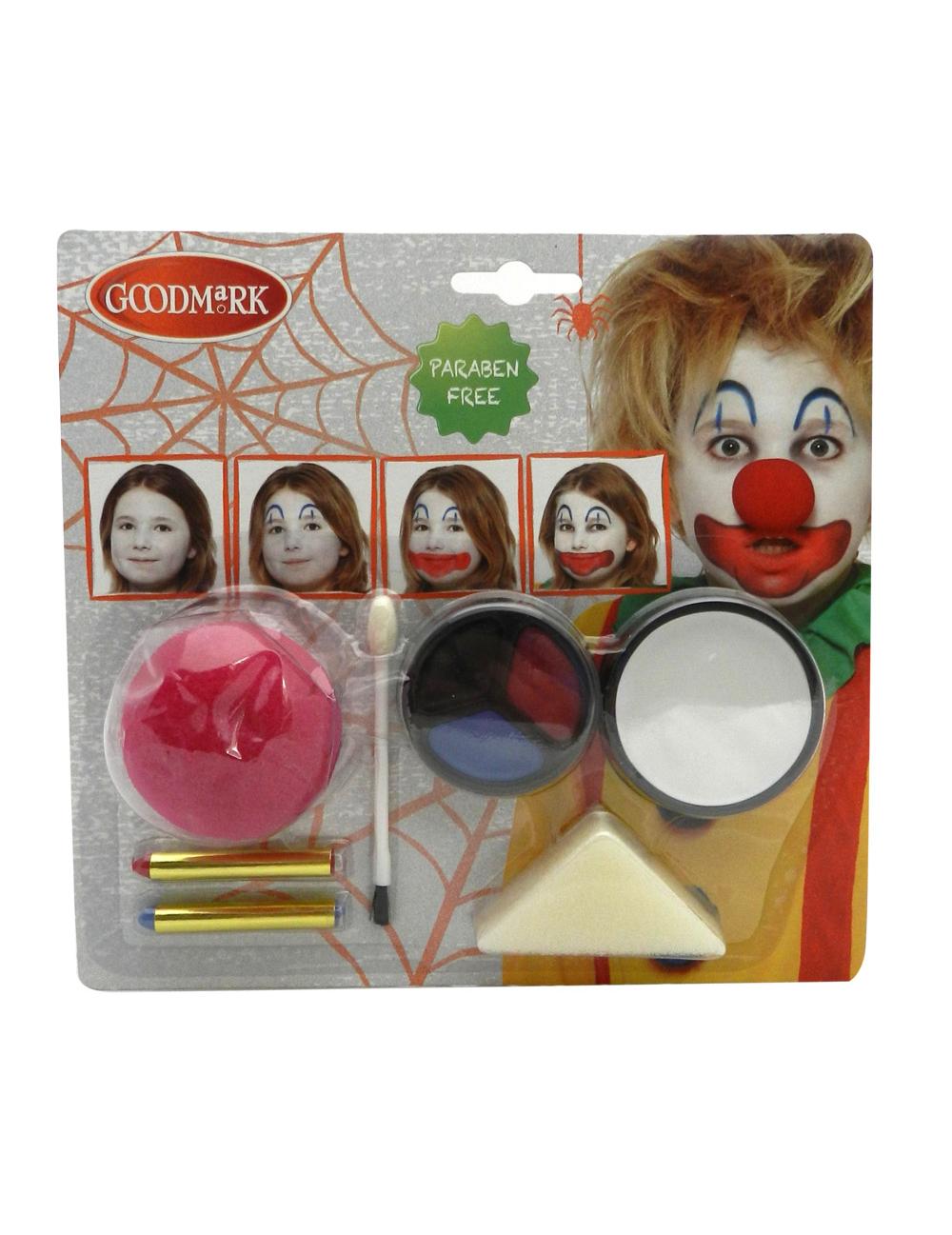 clown make up kit. Black Bedroom Furniture Sets. Home Design Ideas
