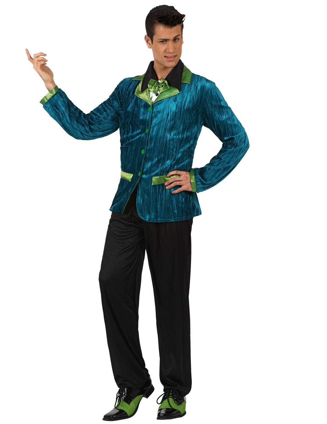 d guisement style ann es 60 bleu et vert homme. Black Bedroom Furniture Sets. Home Design Ideas