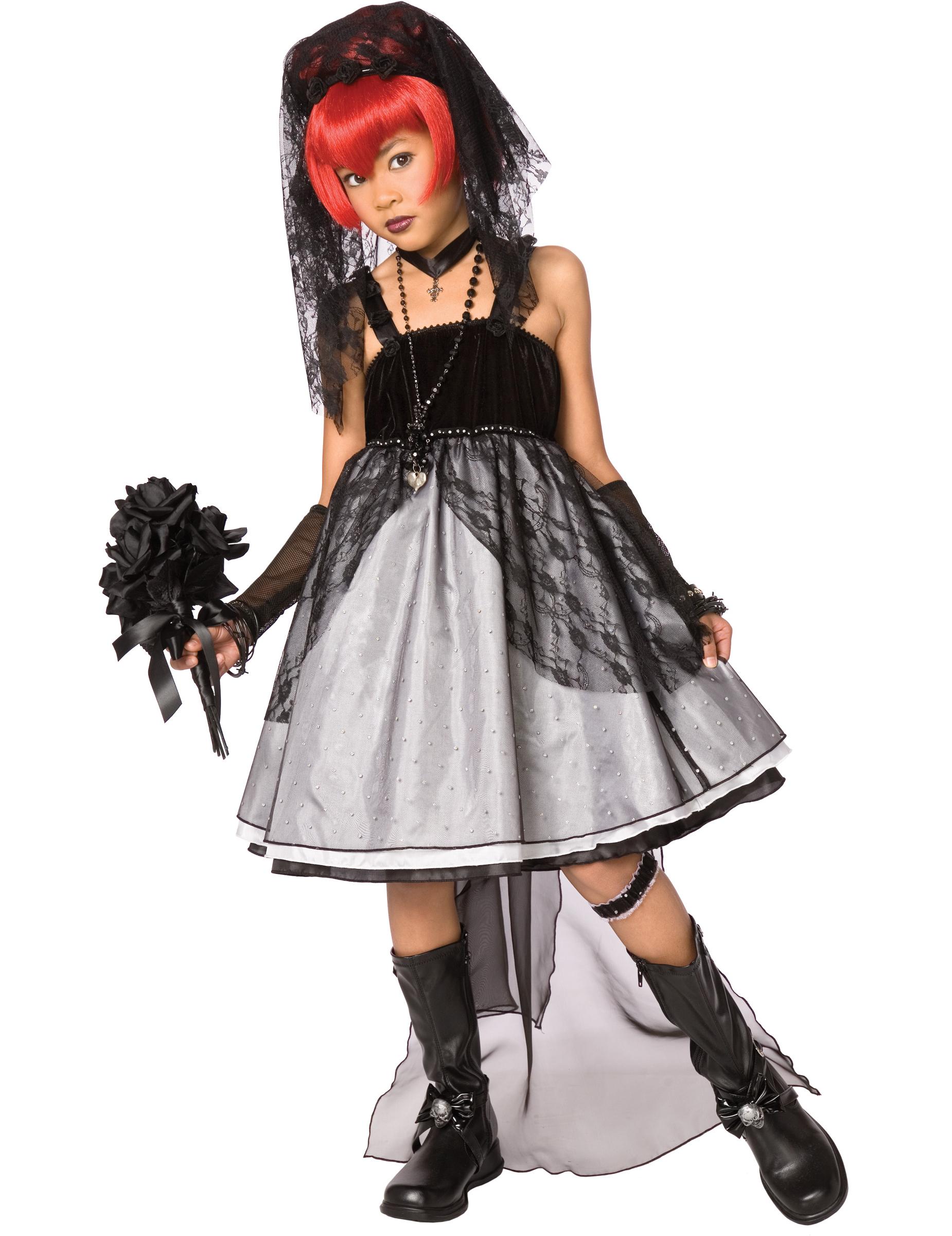 D guisement mari e gothique enfant deguise toi achat de d guisements enfants - Deguisement halloween mariee ...