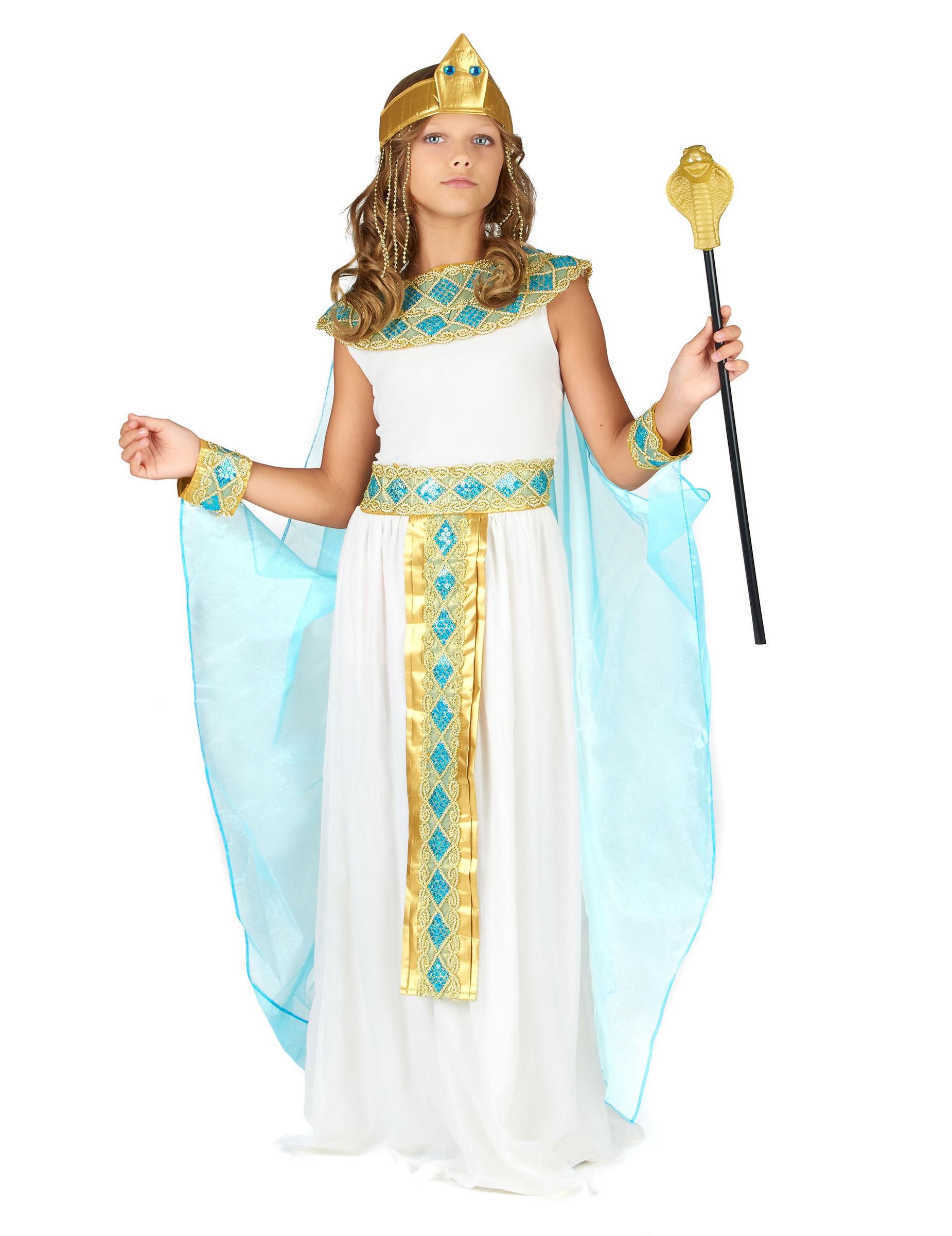 Egyptian queen costume for children